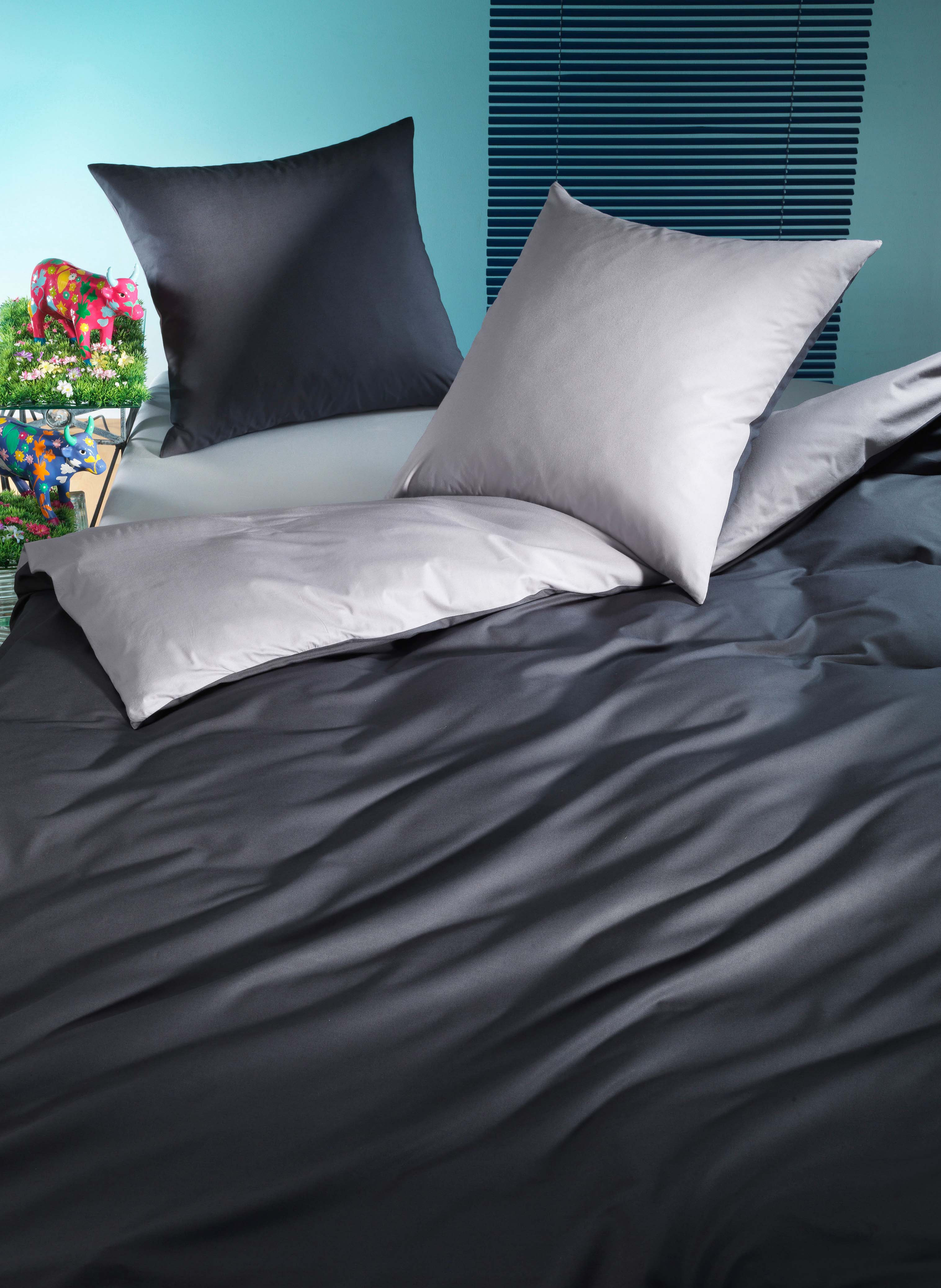 3b96c23648 Biancheria da letto in fibra di bambù «DOUBLE-FACE»