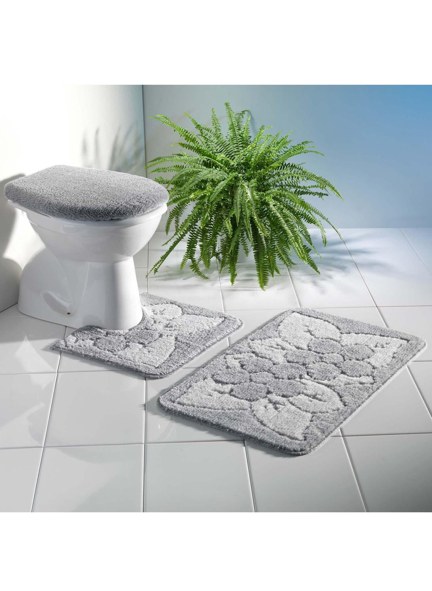bad wc garnitur floral 3 teilig ohne ausschnitt. Black Bedroom Furniture Sets. Home Design Ideas
