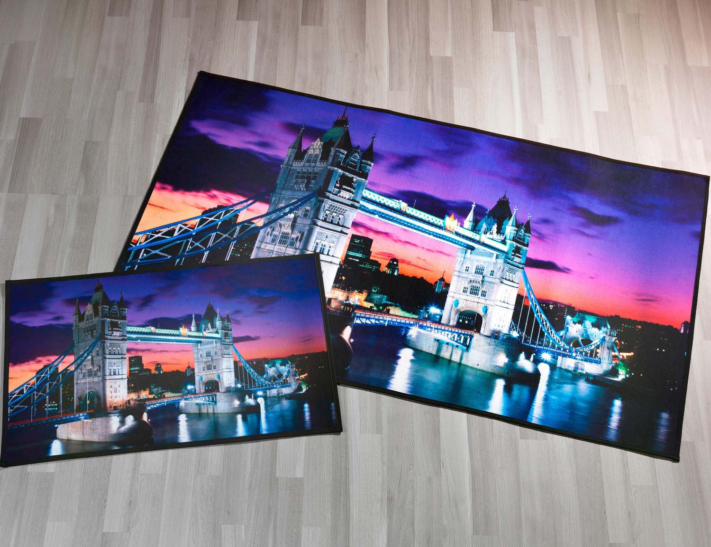 Teppich FotoMotivPrint LONDON