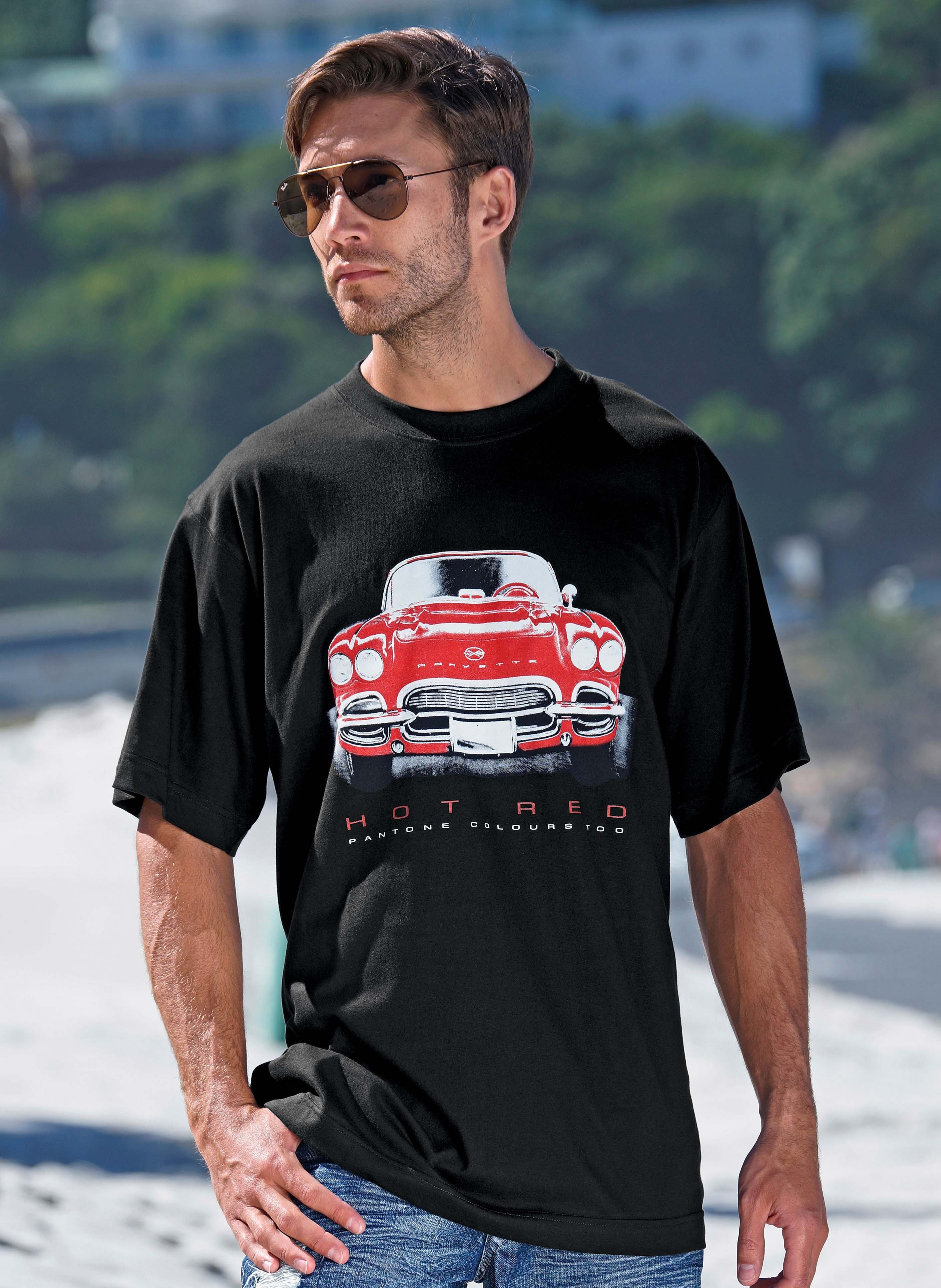 Kurzarm-Shirt «American Car»