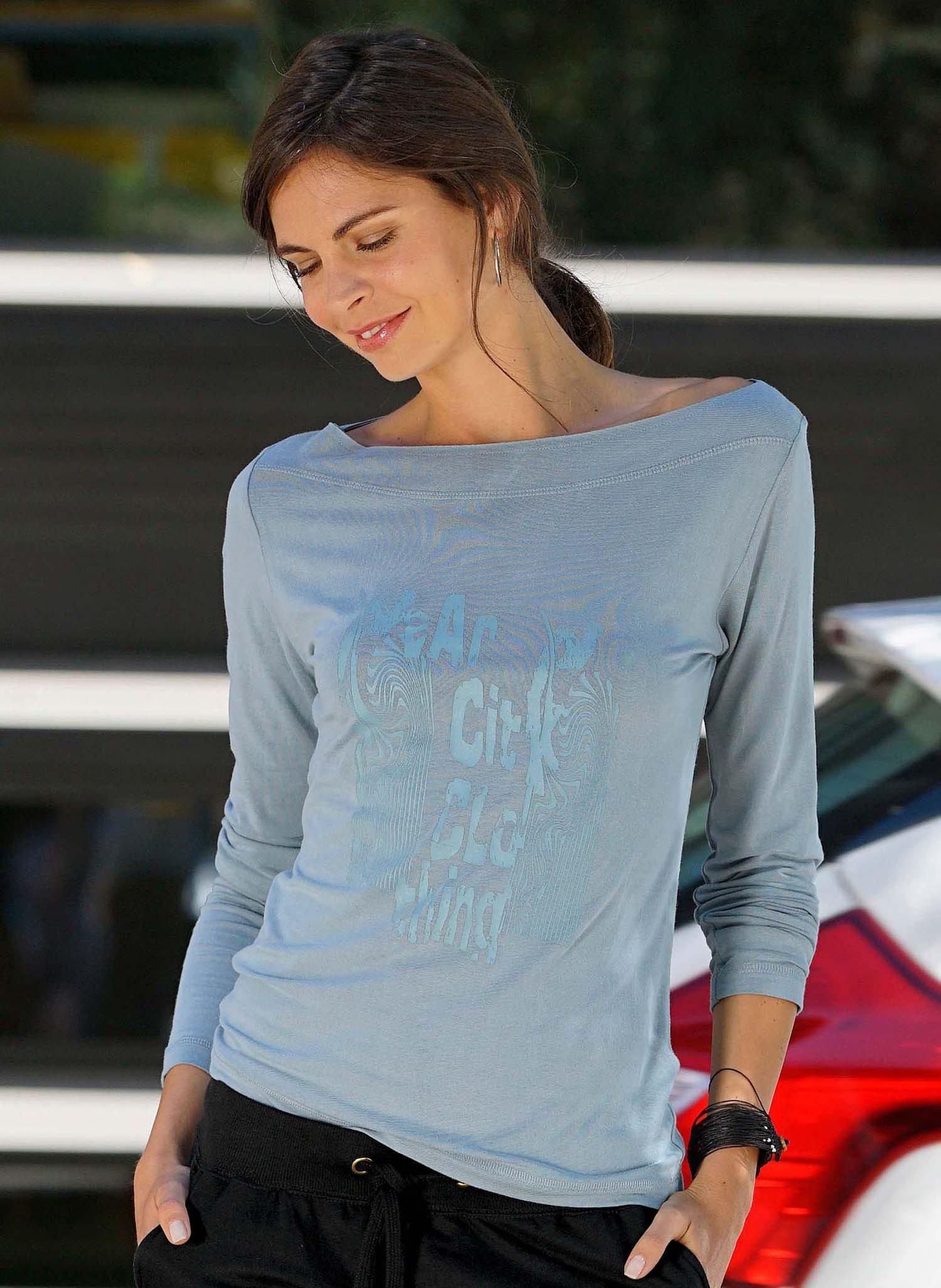 D-LA-Shirt Ethno-Print türkis L 069 - 2 - Ronja.ch