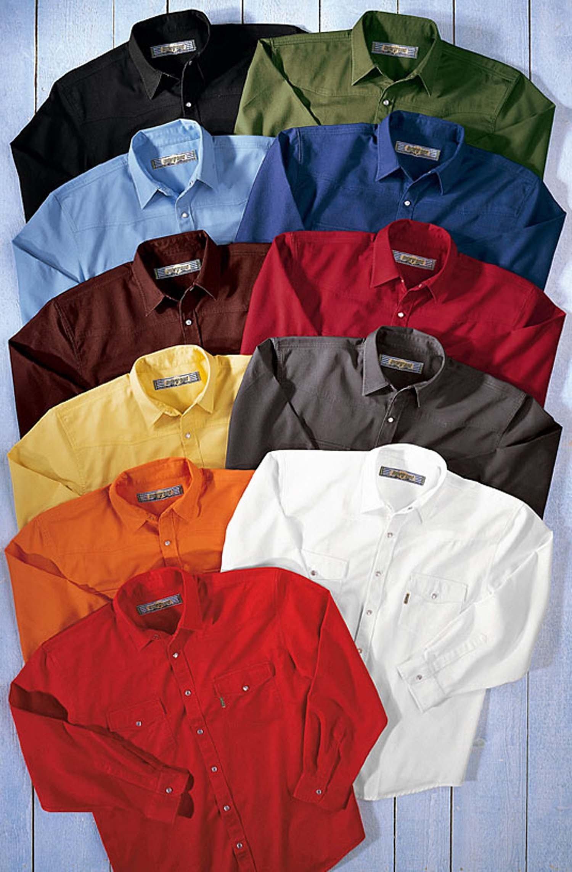 U-LA-Colors-Jeans-Hemd schwarz S 010 - 1 - Ronja.ch