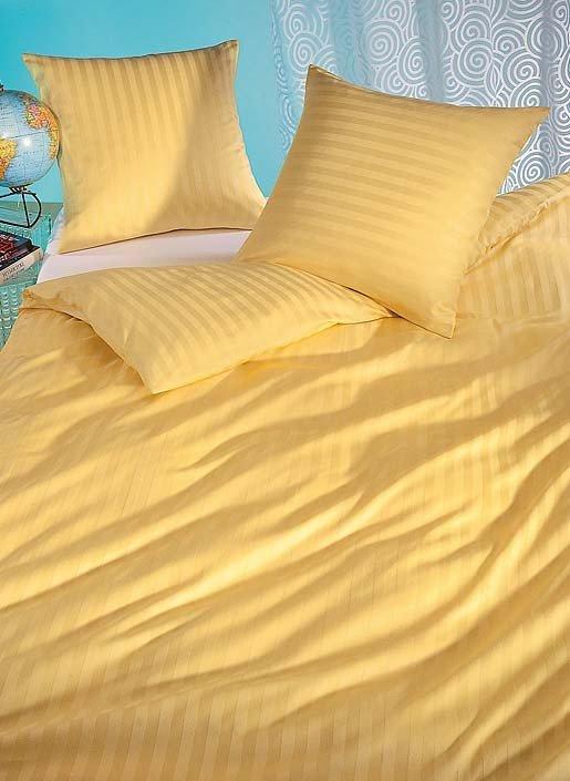 "S-Duvet""Jaquard""135x170 gelb"