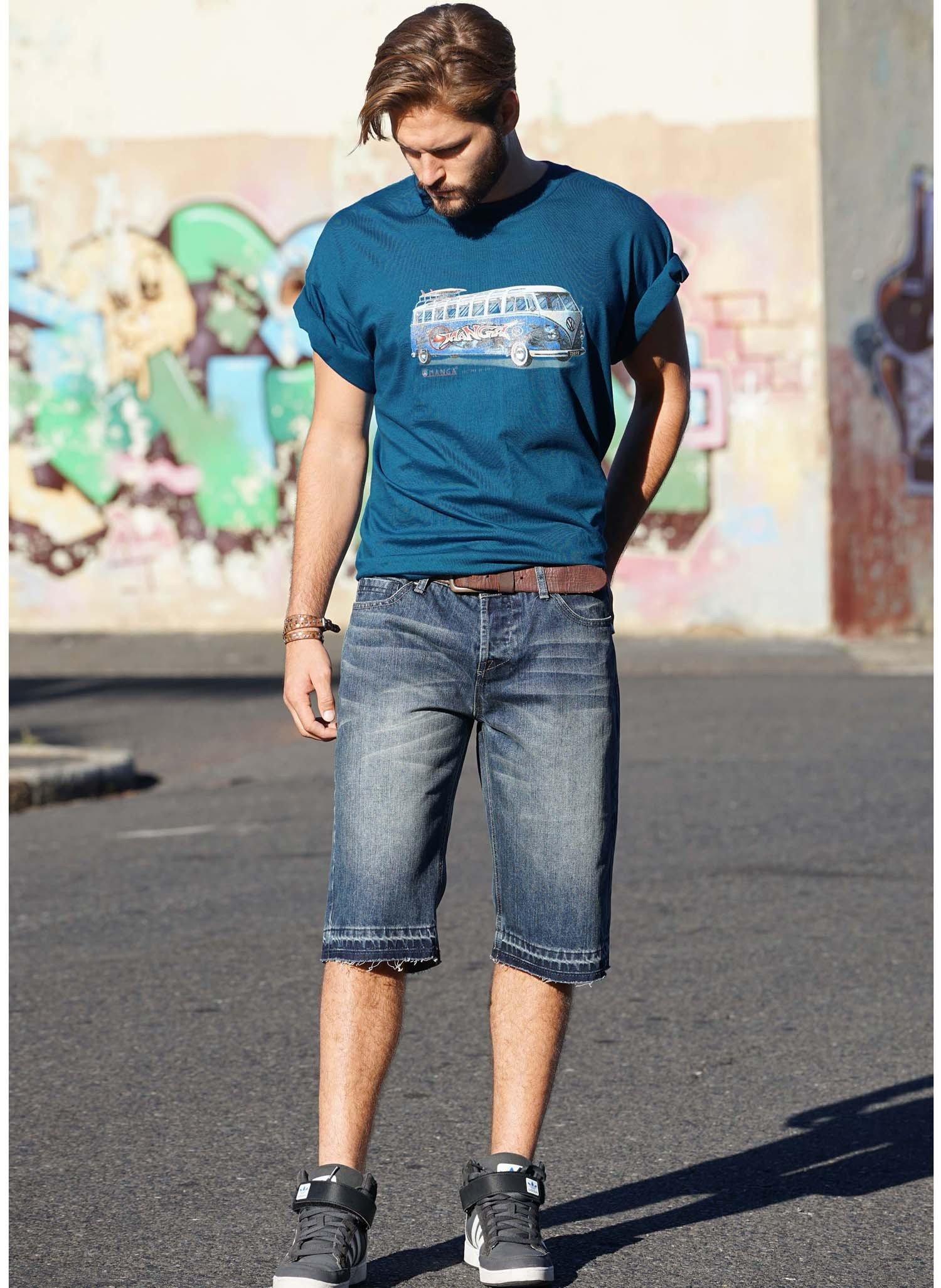 H-Jeans-Bermuda,sp.Saum Blue-D 38 050 - 1 - Ronja.ch