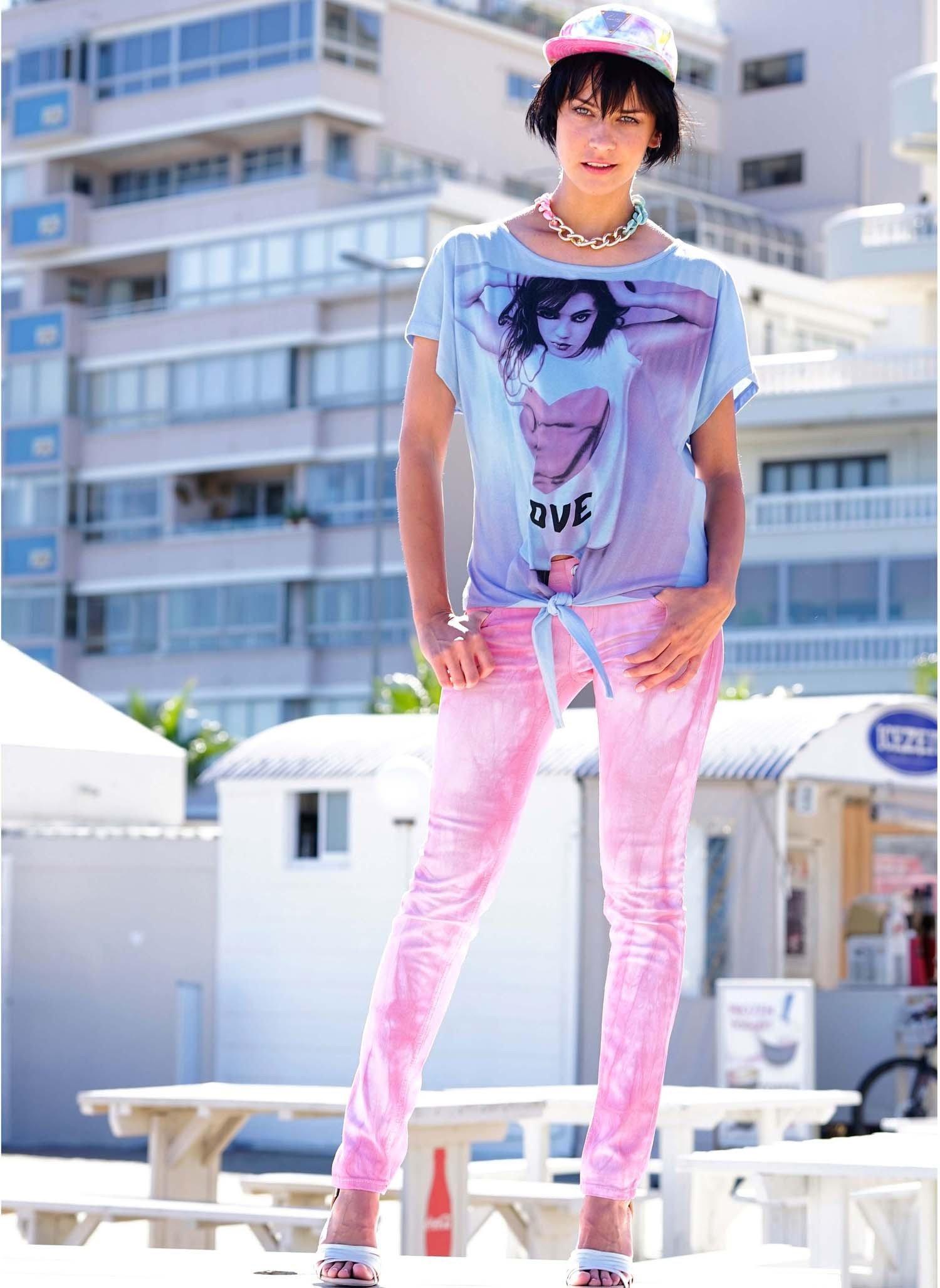 D-5-P-Hose,Batik,pink 34 011 - 2 - Ronja.ch