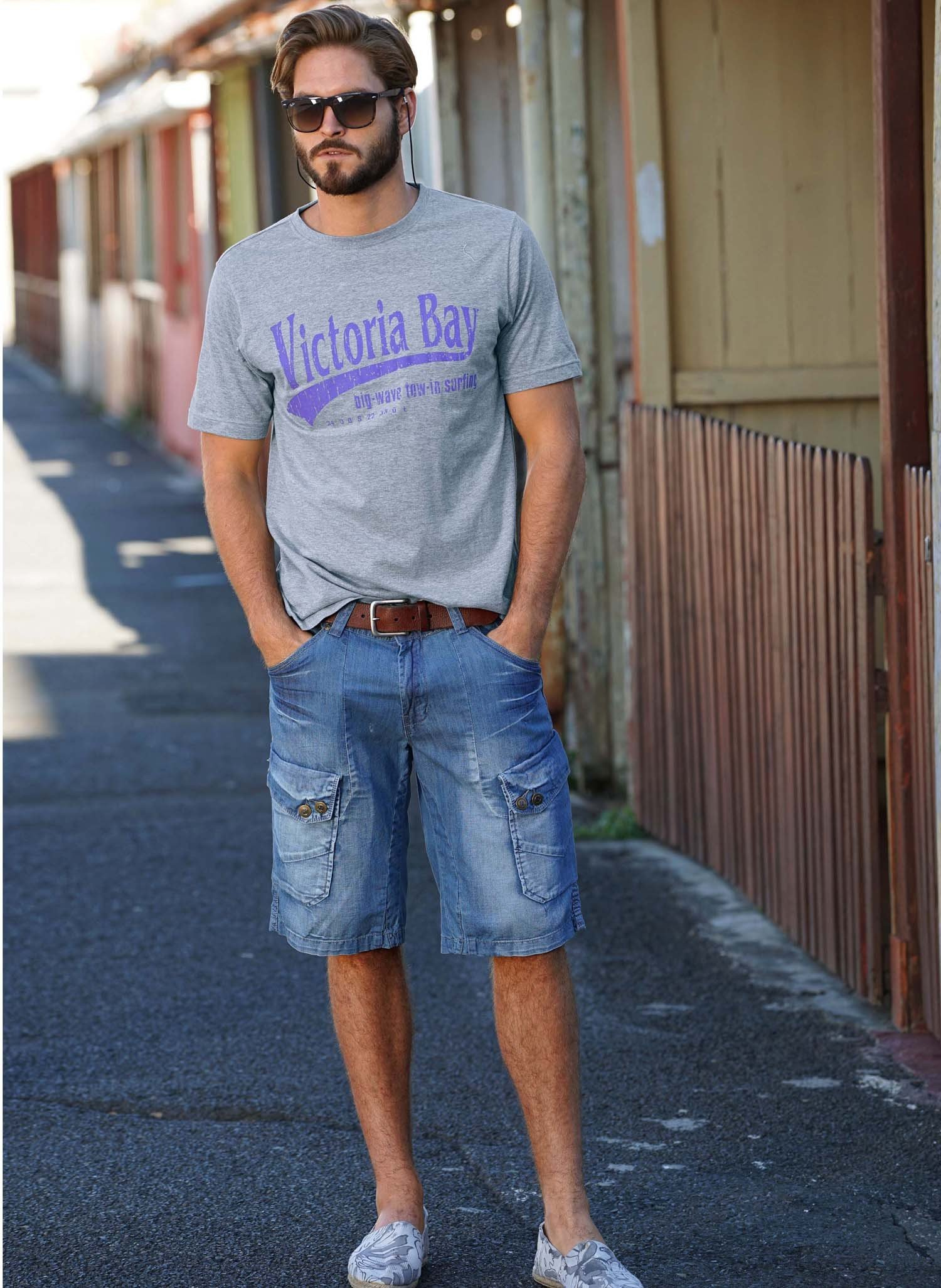 H-Bermuda-Jeans,Blue-Denim 38 050 - 1 - Ronja.ch