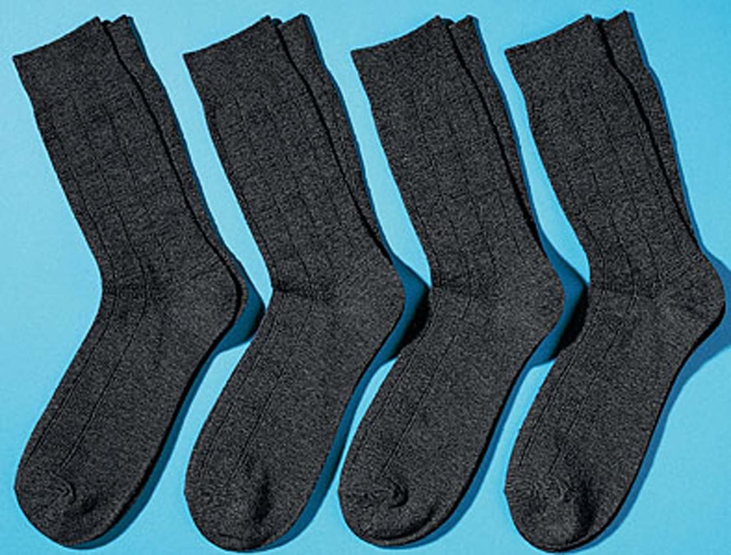 H-Business-Socken 4er-Set,anth 3942 013