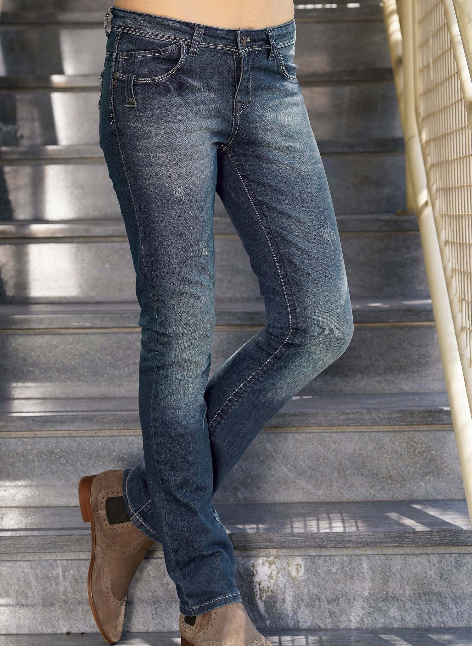 D-5P-Jeans,Sitzfalten Blue-Den 44 - 2 - Ronja.ch