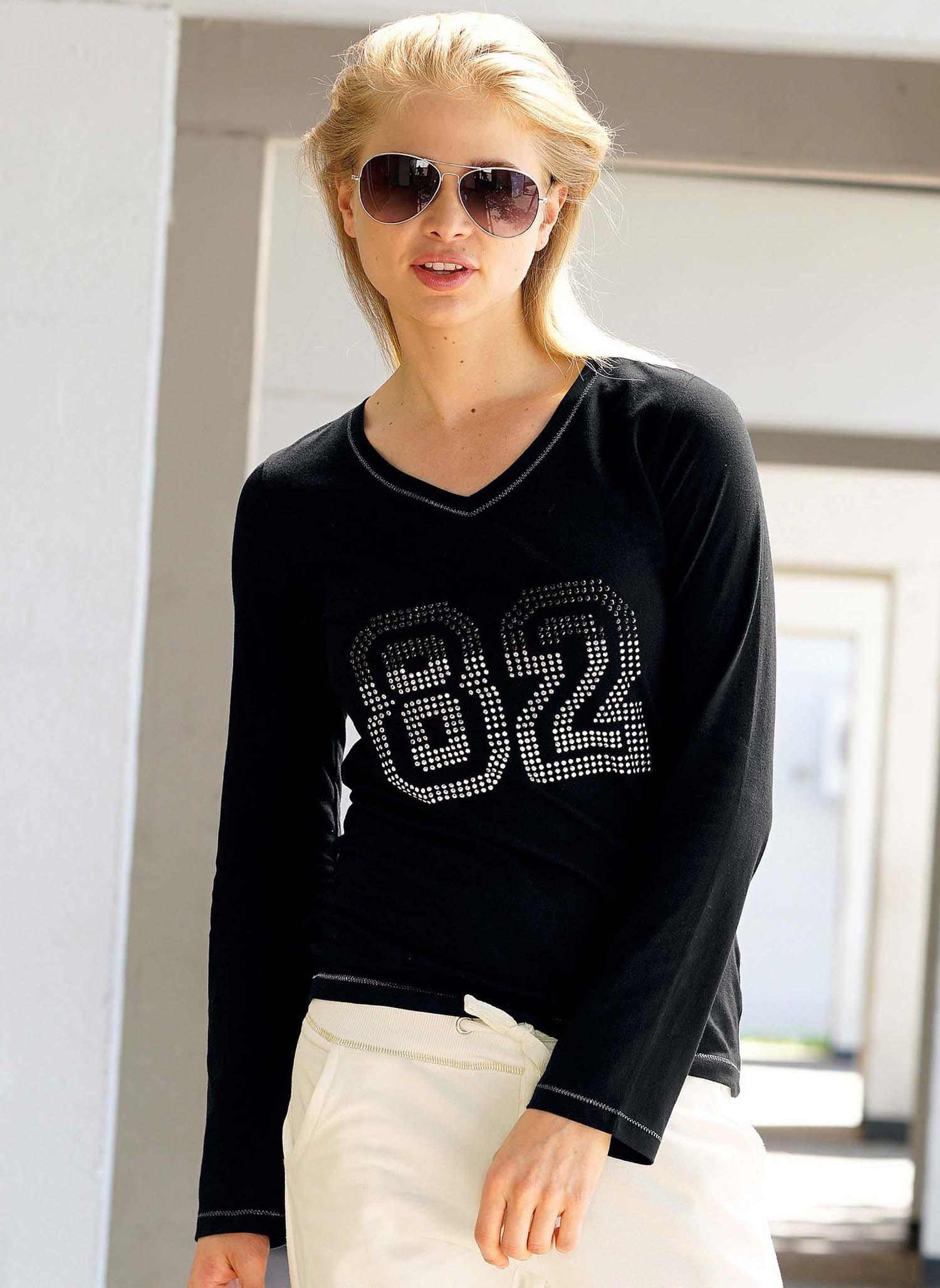 "D-LA-Shirt""82""schwarz L 010"