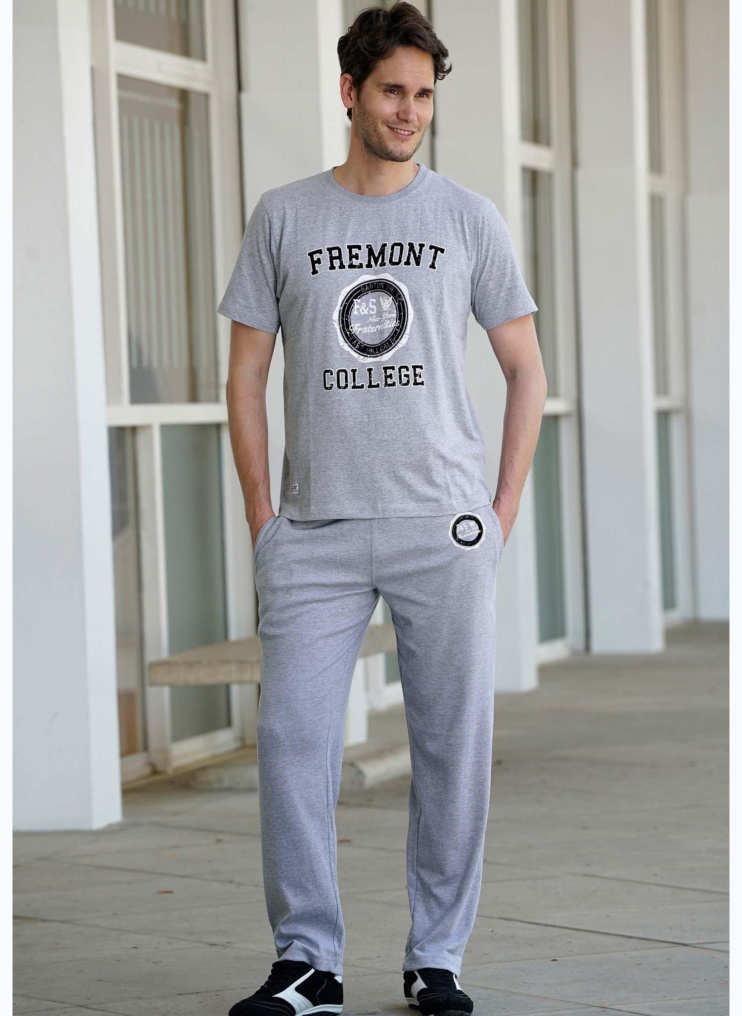 "H-KA-Shirt""COLLEGE""grau mel. XXL 004 - 1 - Ronja.ch"