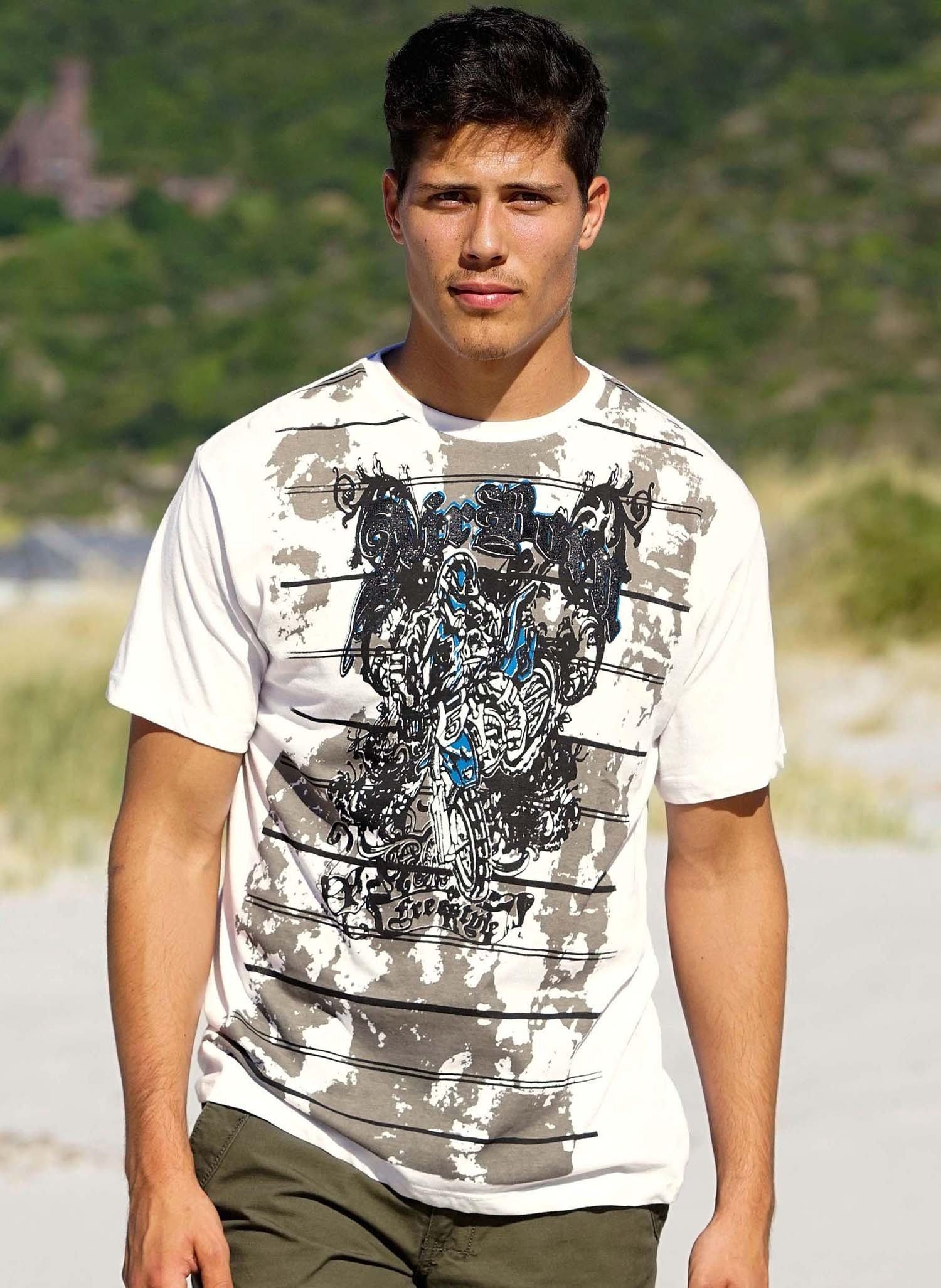 "H-KA-Shirt""Motocross"" offwhite L 212 - 1 - Ronja.ch"