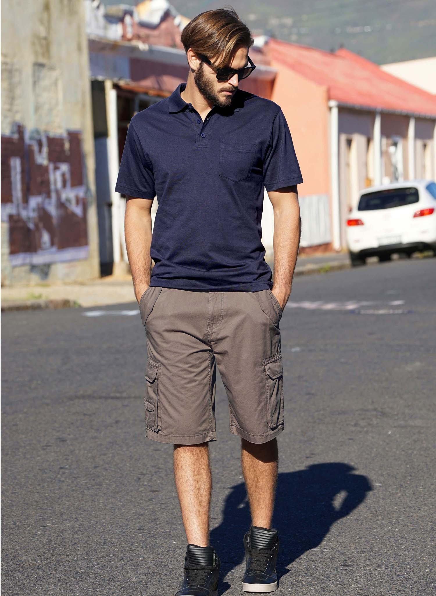 H-Bermuda-Shorts,Taschen braun 38 043 - 2 - Ronja.ch