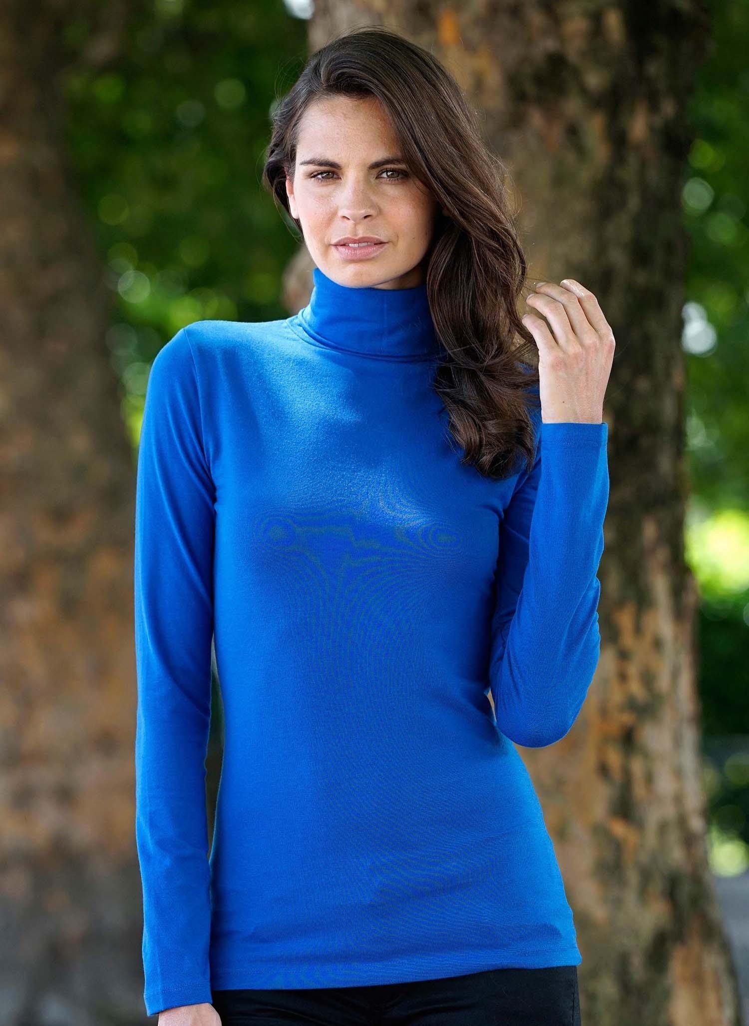 D-LA-Rolli-Shirt,uni k'blau L 052 - 1 - Ronja.ch
