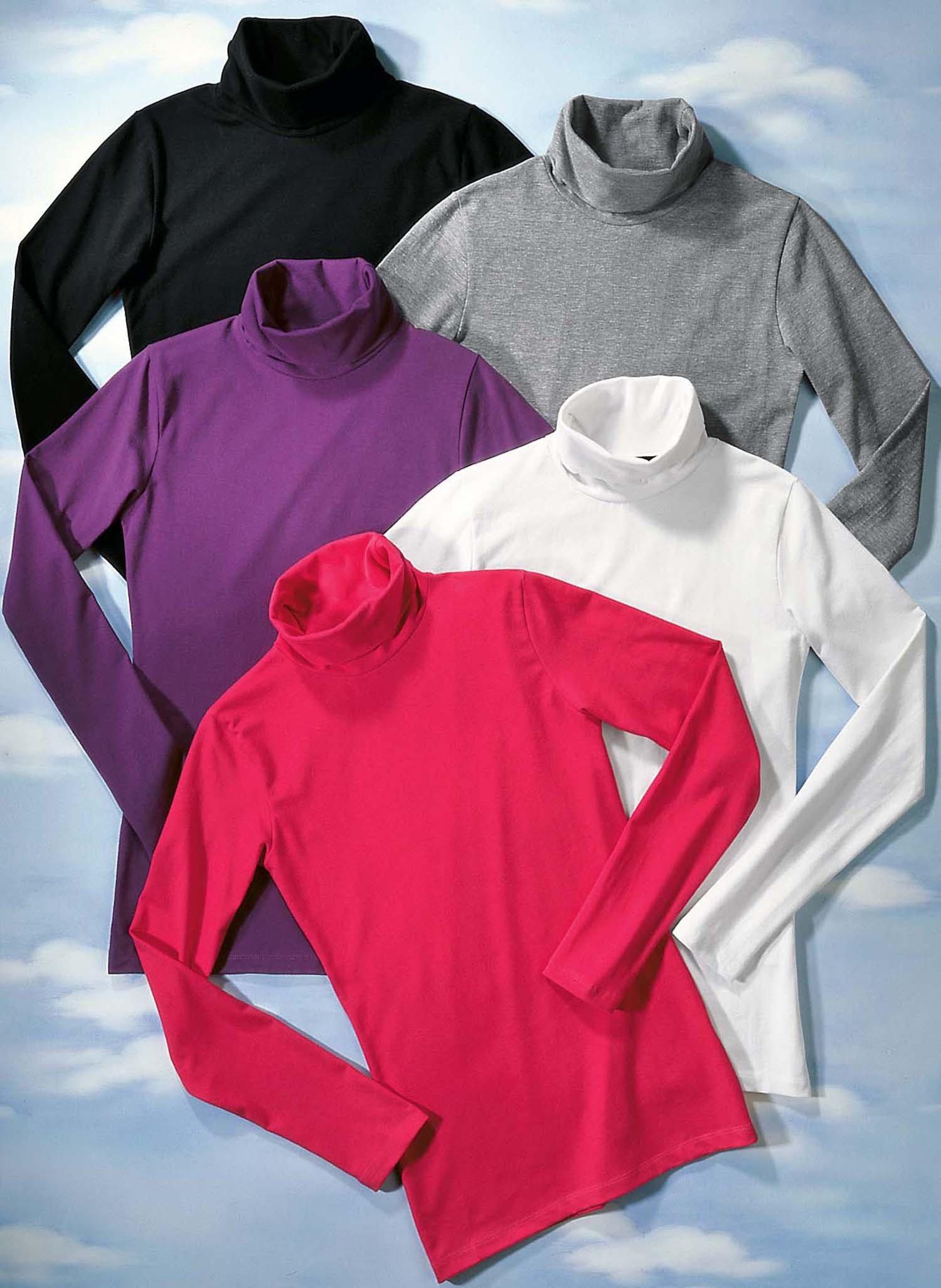 D-LA-Rolli-Shirt,uni schwarz L 010 - 2 - Ronja.ch