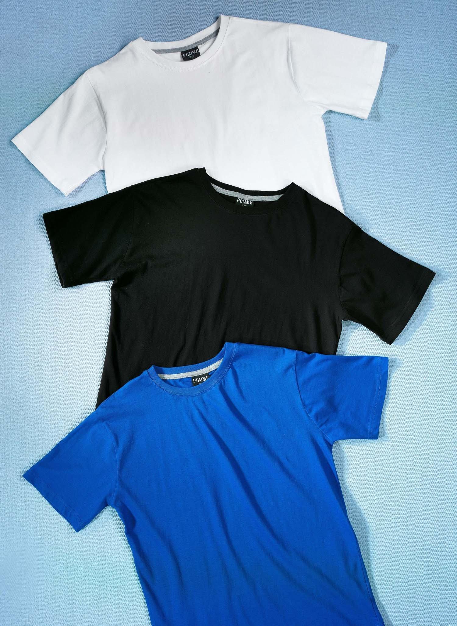 H-KA-Shirt,uni schwarz L 010 - 2 - Ronja.ch