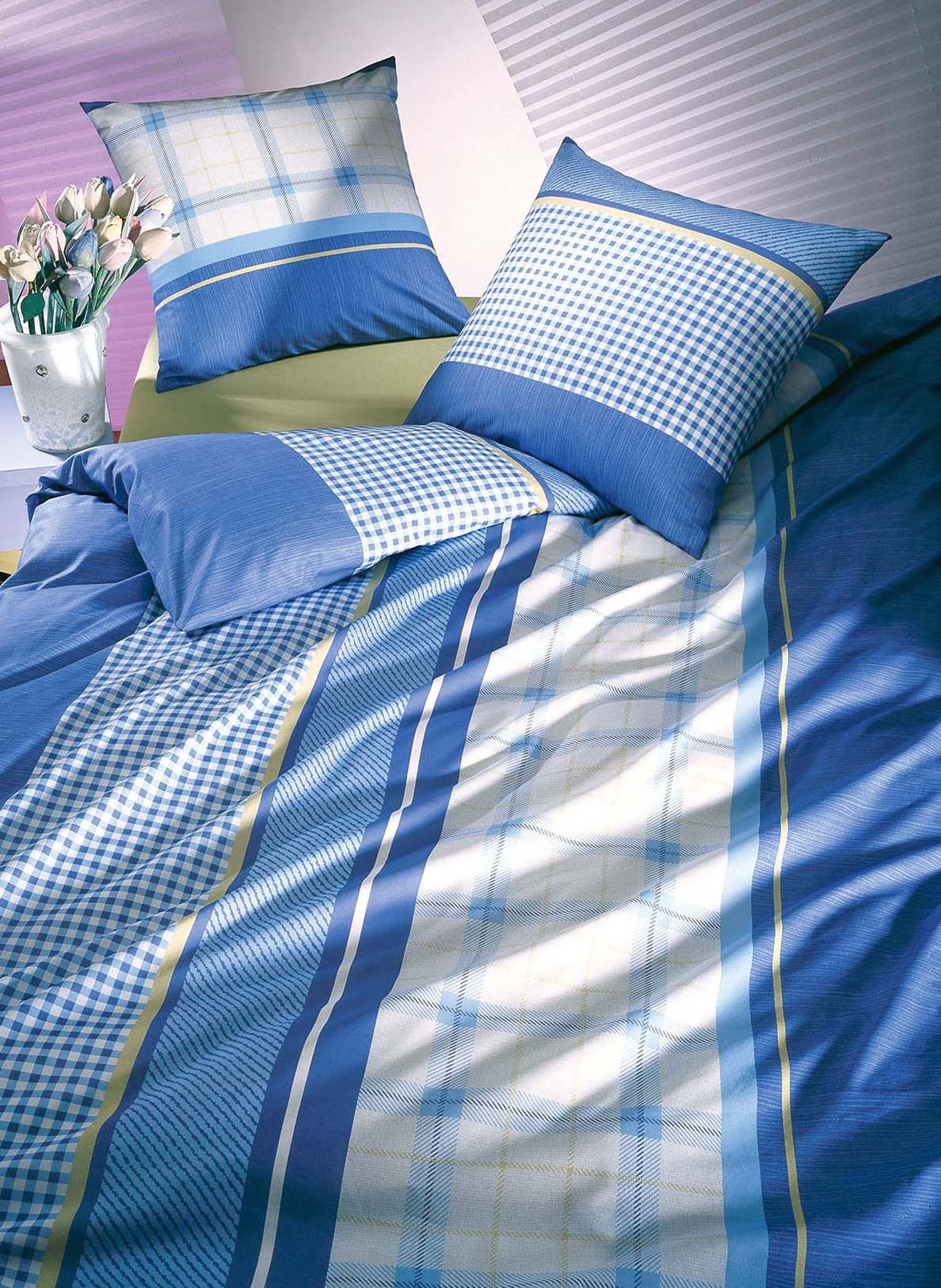 "FL-Kissen""AROSA""65x65cm blau - 1 - Ronja.ch"