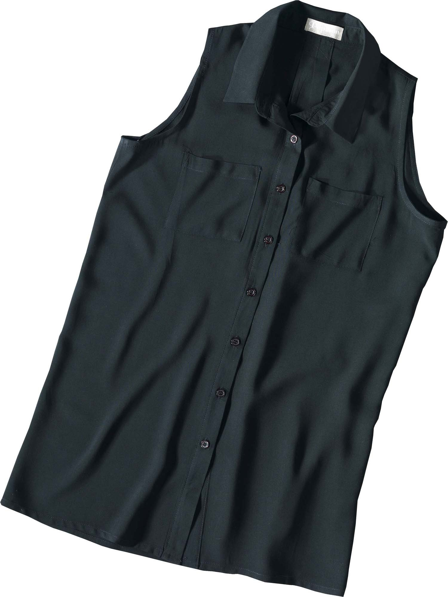 D-Gilet-Bluse, schwarz M 010 - 2 - Ronja.ch