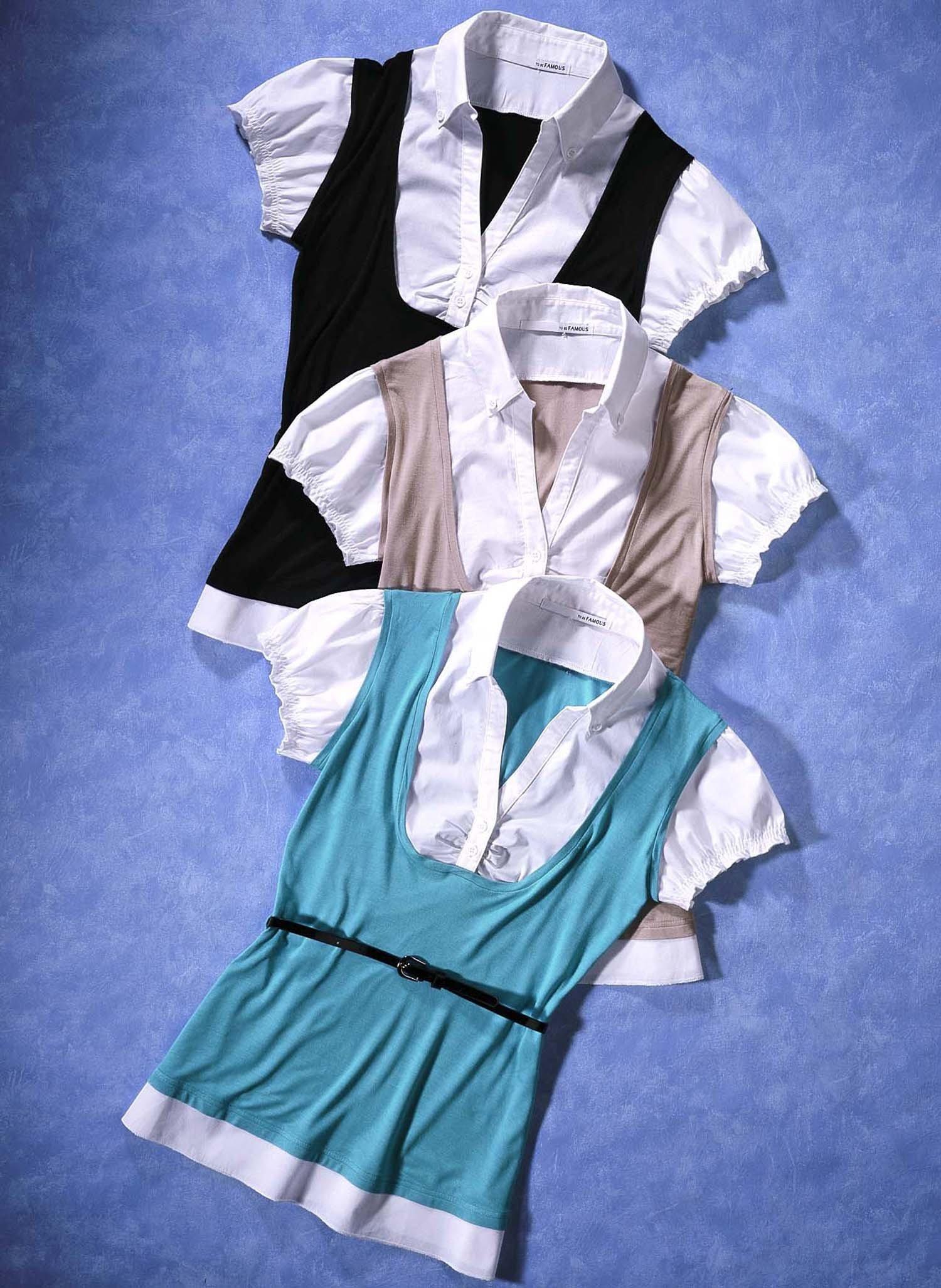 D-KA-Shirt-Bluse,Gurt schwarz L 010 - 2 - Ronja.ch