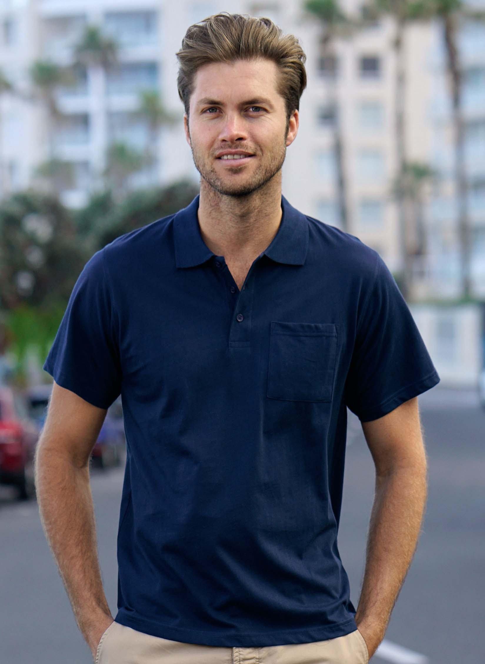 Herren-Polo-Shirt erhältlich in 7 Farben