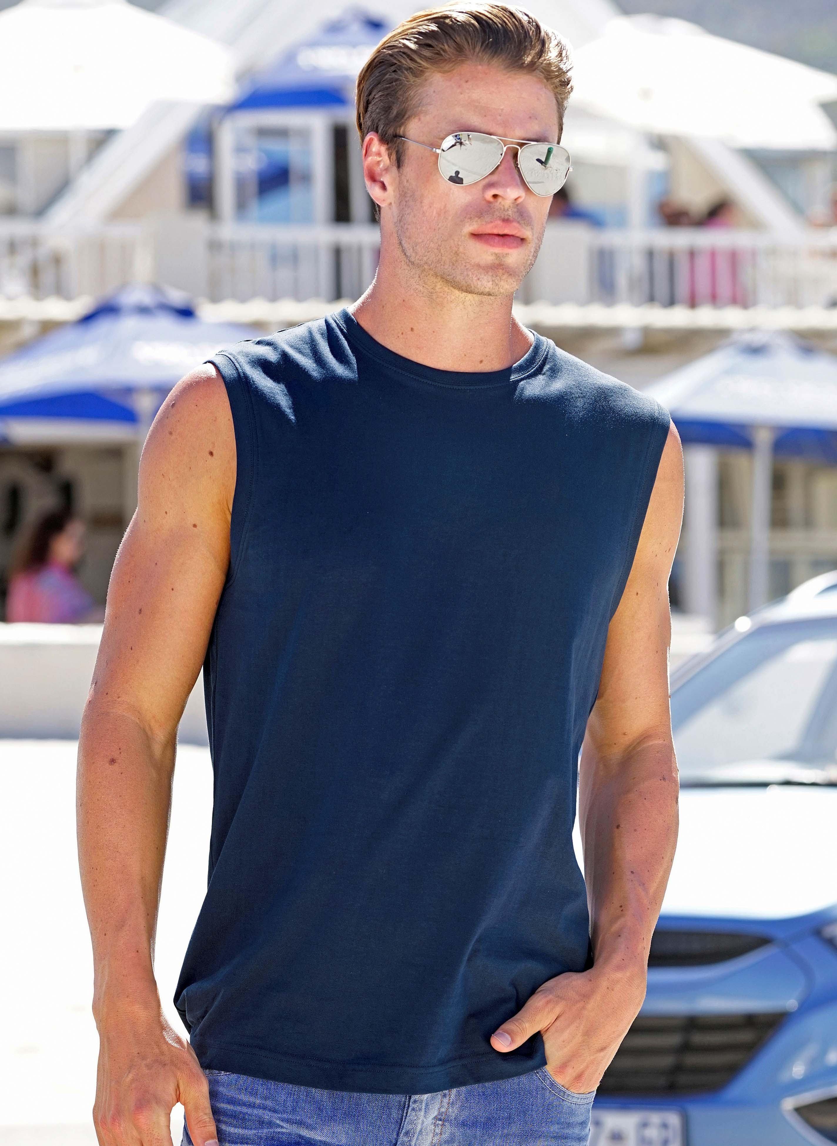 Herren-Muskel-Shirt erhätlich in 7 Farben