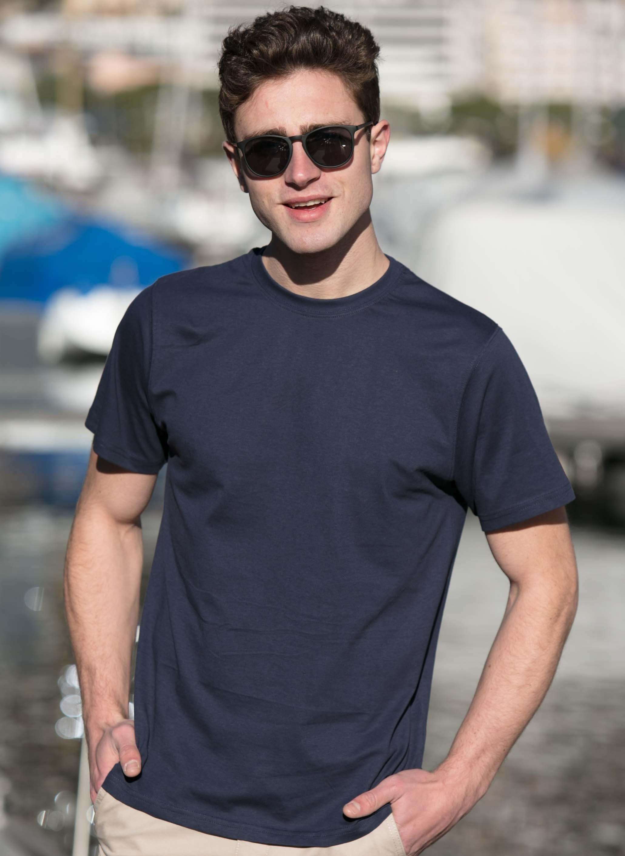 Herren-Kurzarm-Shirt erhältlich in 7 Farben