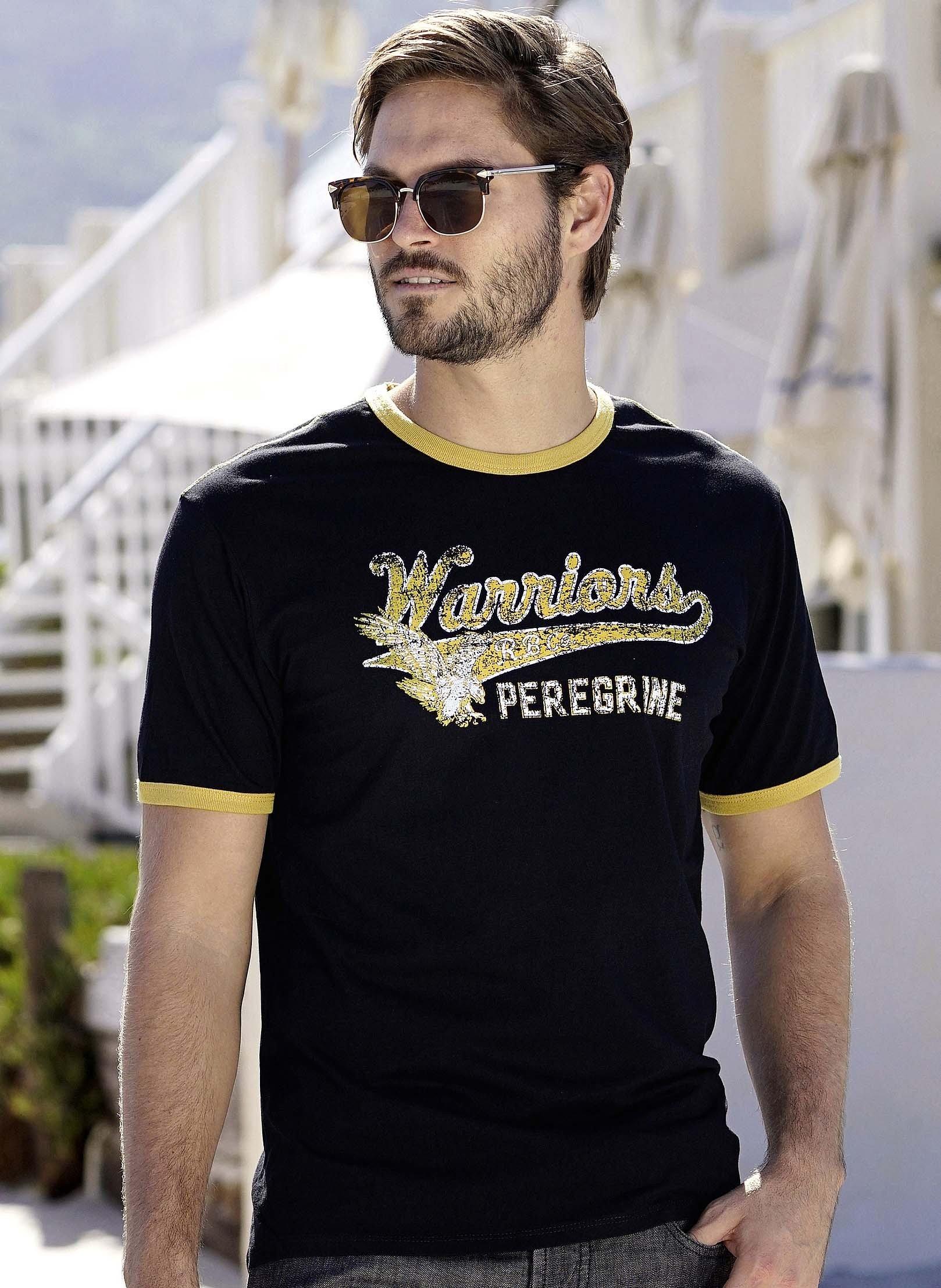 Kurzarm-Shirt «WARRIORS»