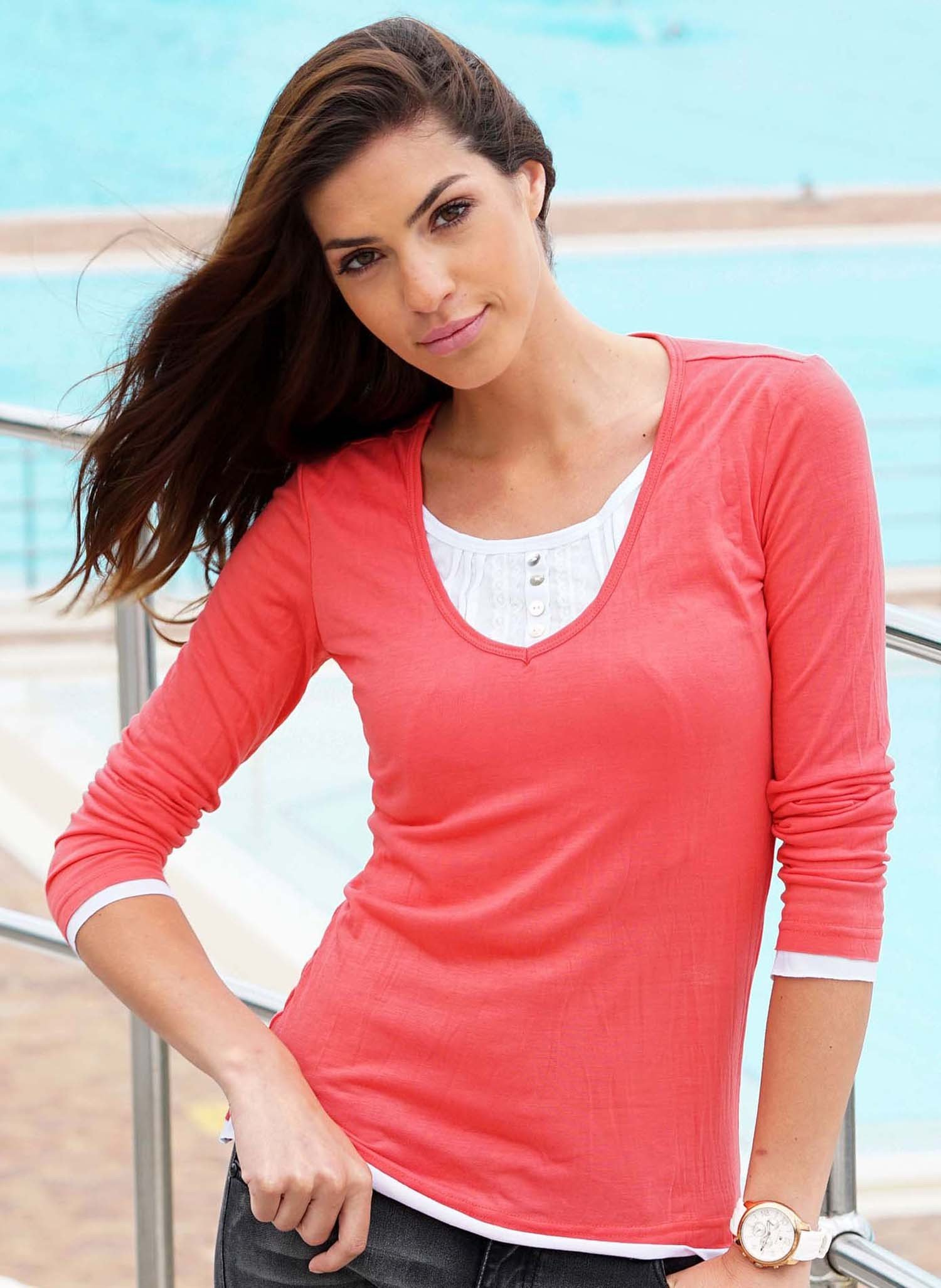 D-LA-Top,Knitter-Look coralle L 028 - 1 - Ronja.ch