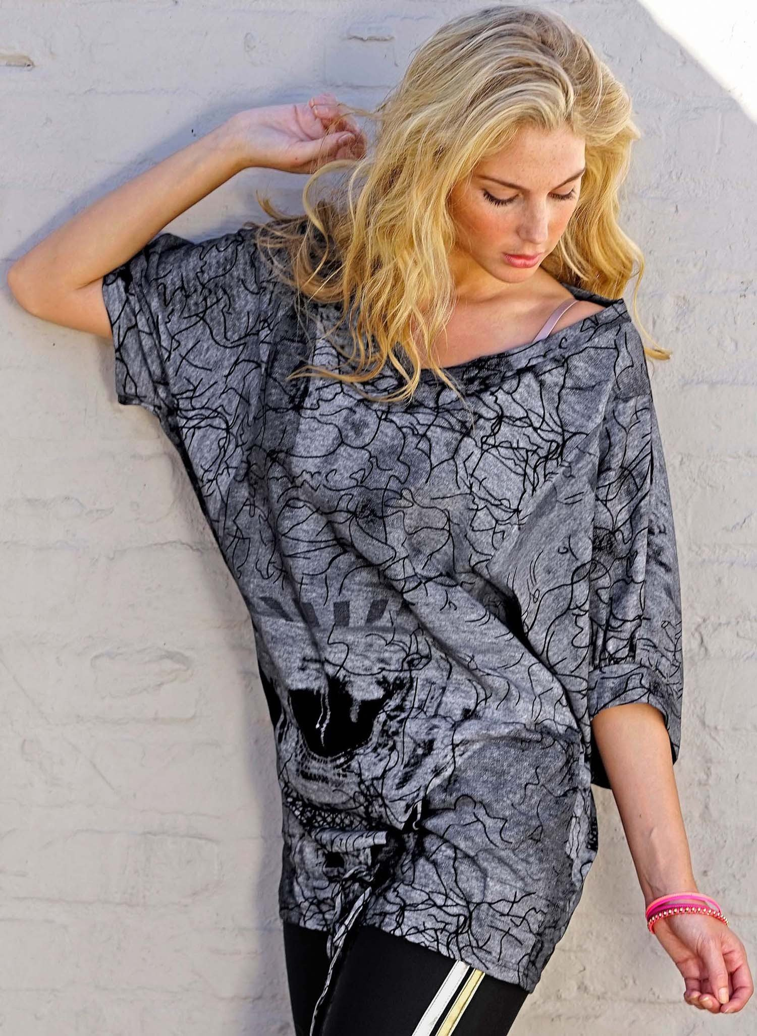 "D-Big-Shirt,""Eifelturm""gr/schw L/XL 013 - 1 - Ronja.ch"