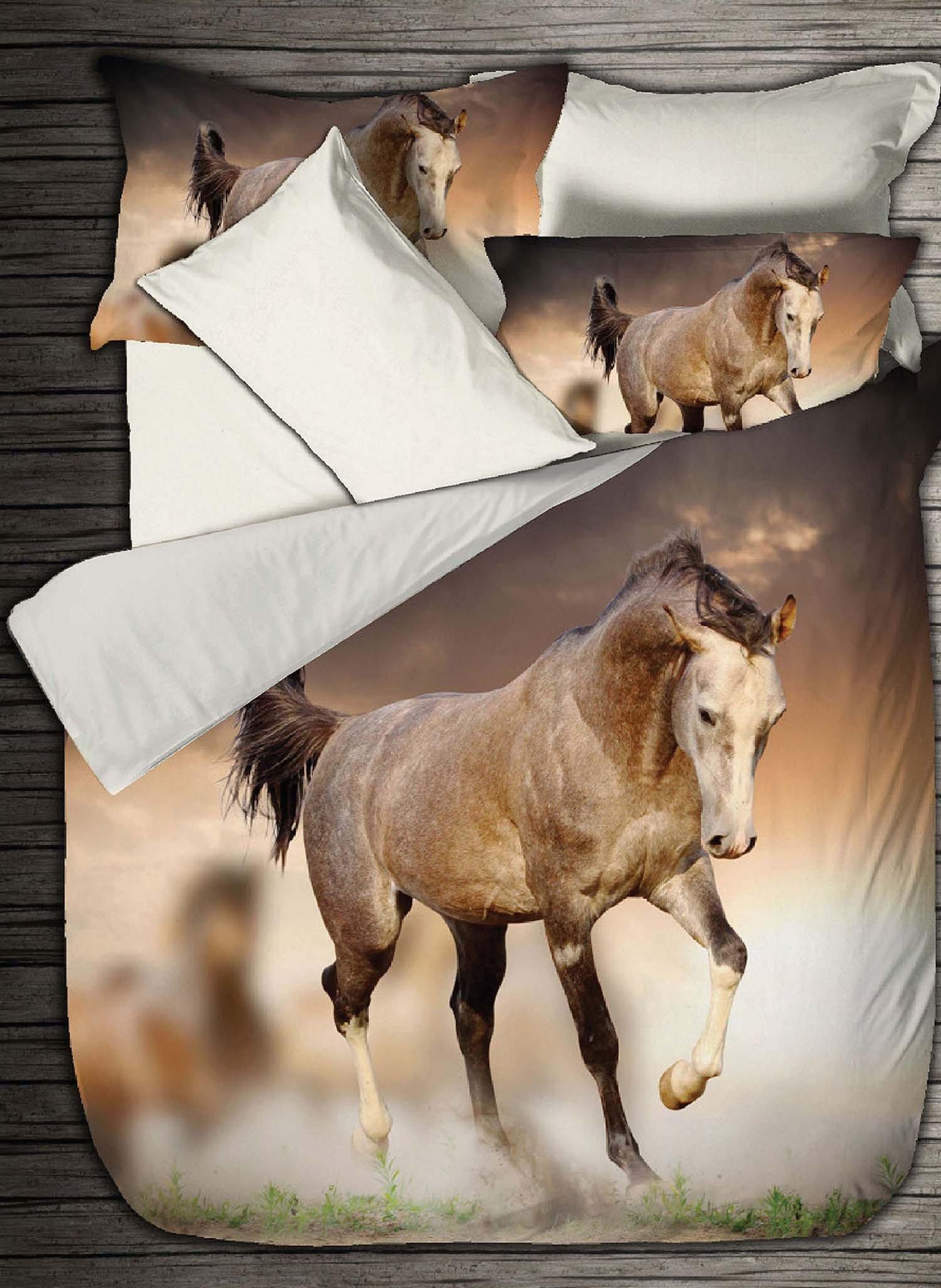 """S-Kissen""""WILD-HORSE""""65x65cm - 1 - Ronja.ch"""