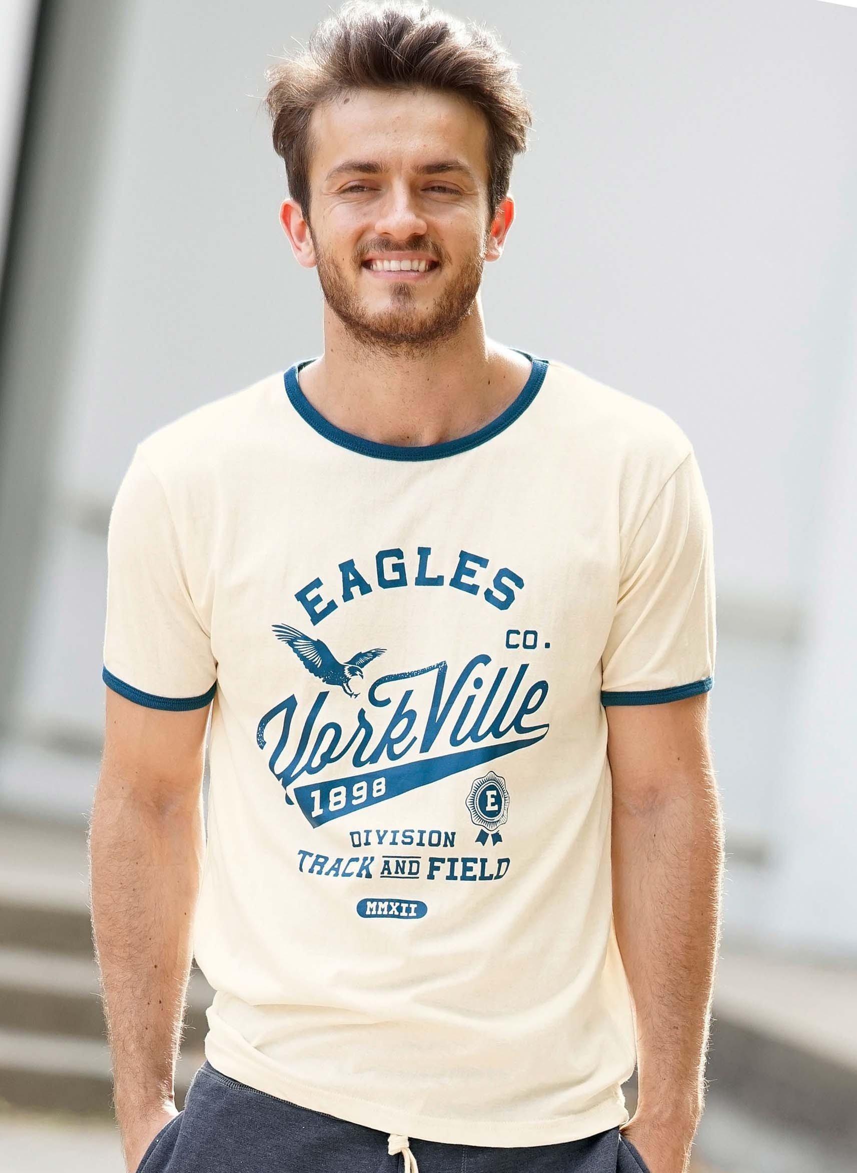 Kurzarm-Shirt «EAGLES»