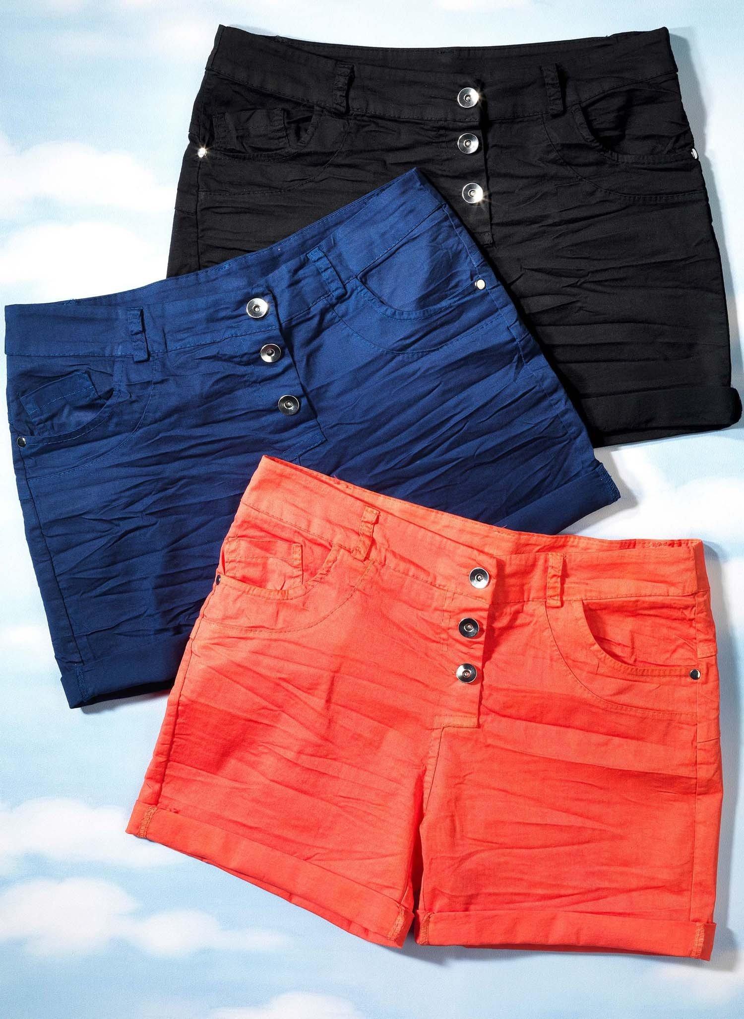 D-5-Pocket-Shorts schwarz L 010 - 2 - Ronja.ch