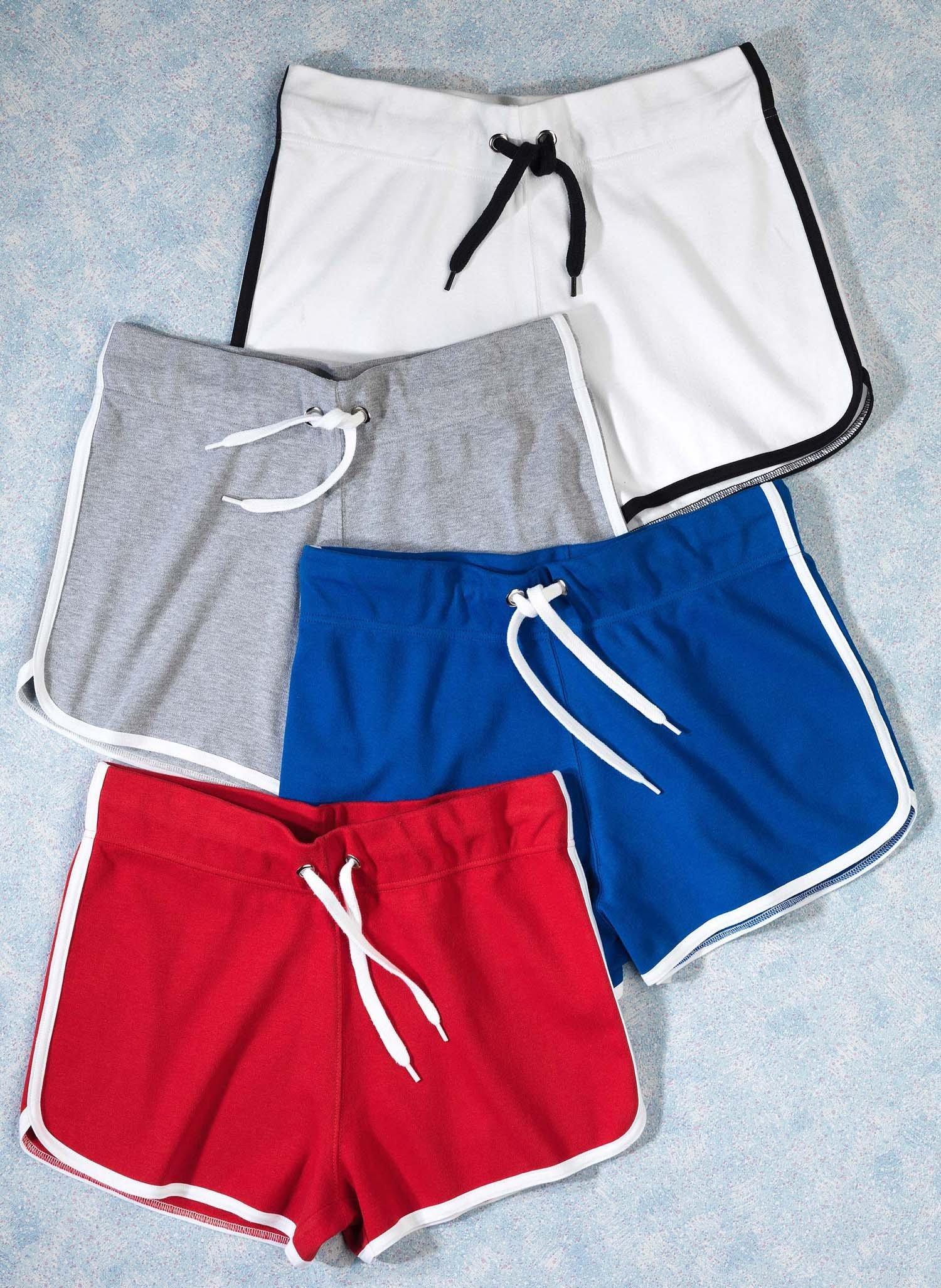 D-Shorts,Kontr.Streifen weiss L 001 - 3 - Ronja.ch