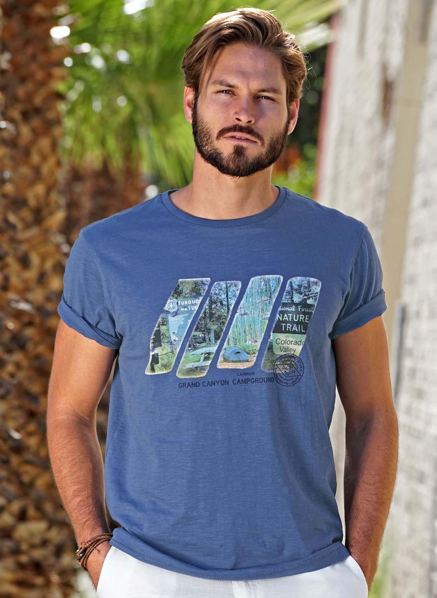 H-KA-Shirt,Flammgarn blau L 047 - 2 - Ronja.ch