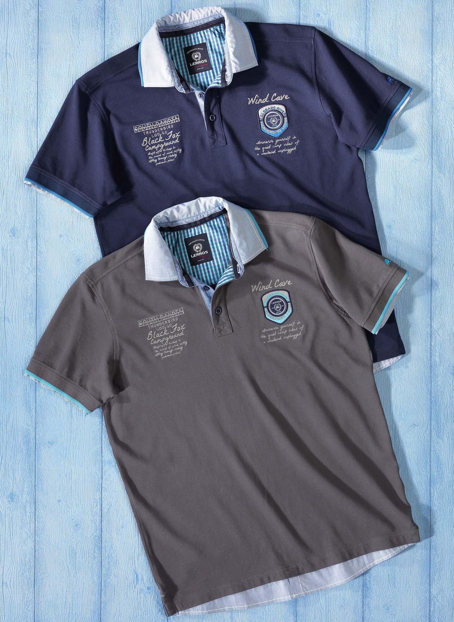 H-KA-Polo-Shirt,Doppelkr.marin L 053 - 2 - Ronja.ch