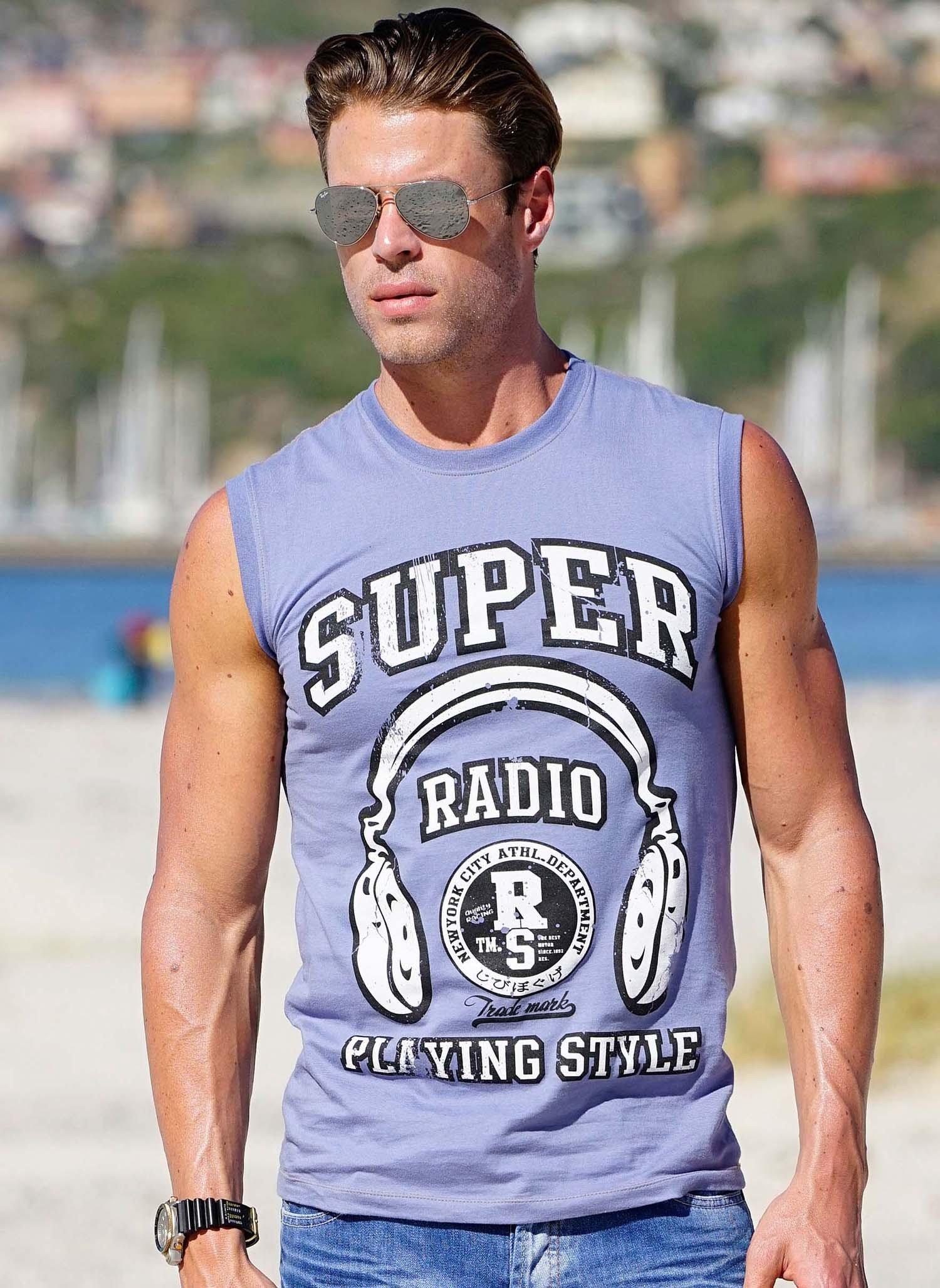H-Muskel-Shirt,RADIO ciel L 051 - 1 - Ronja.ch