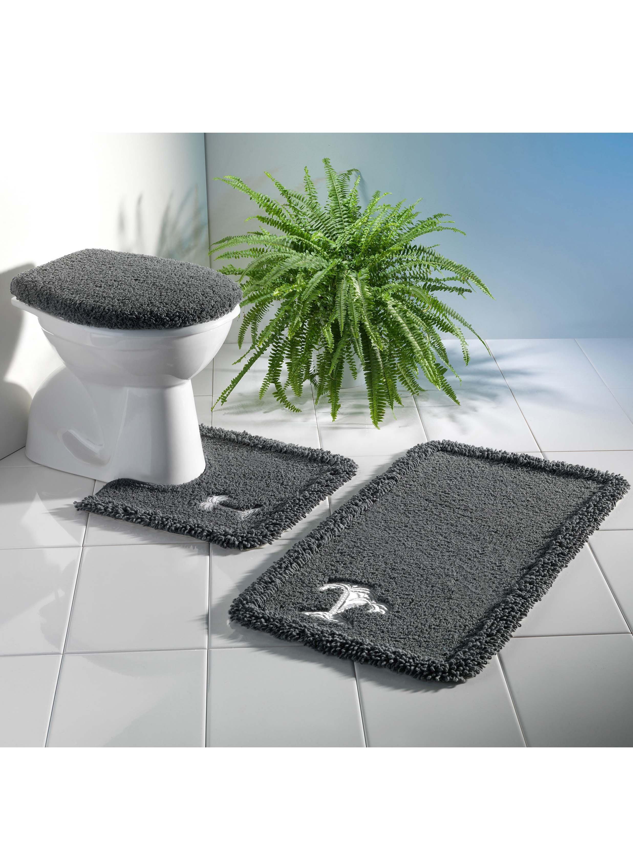 bad wc garnitur satin palme mit ausschnitt. Black Bedroom Furniture Sets. Home Design Ideas