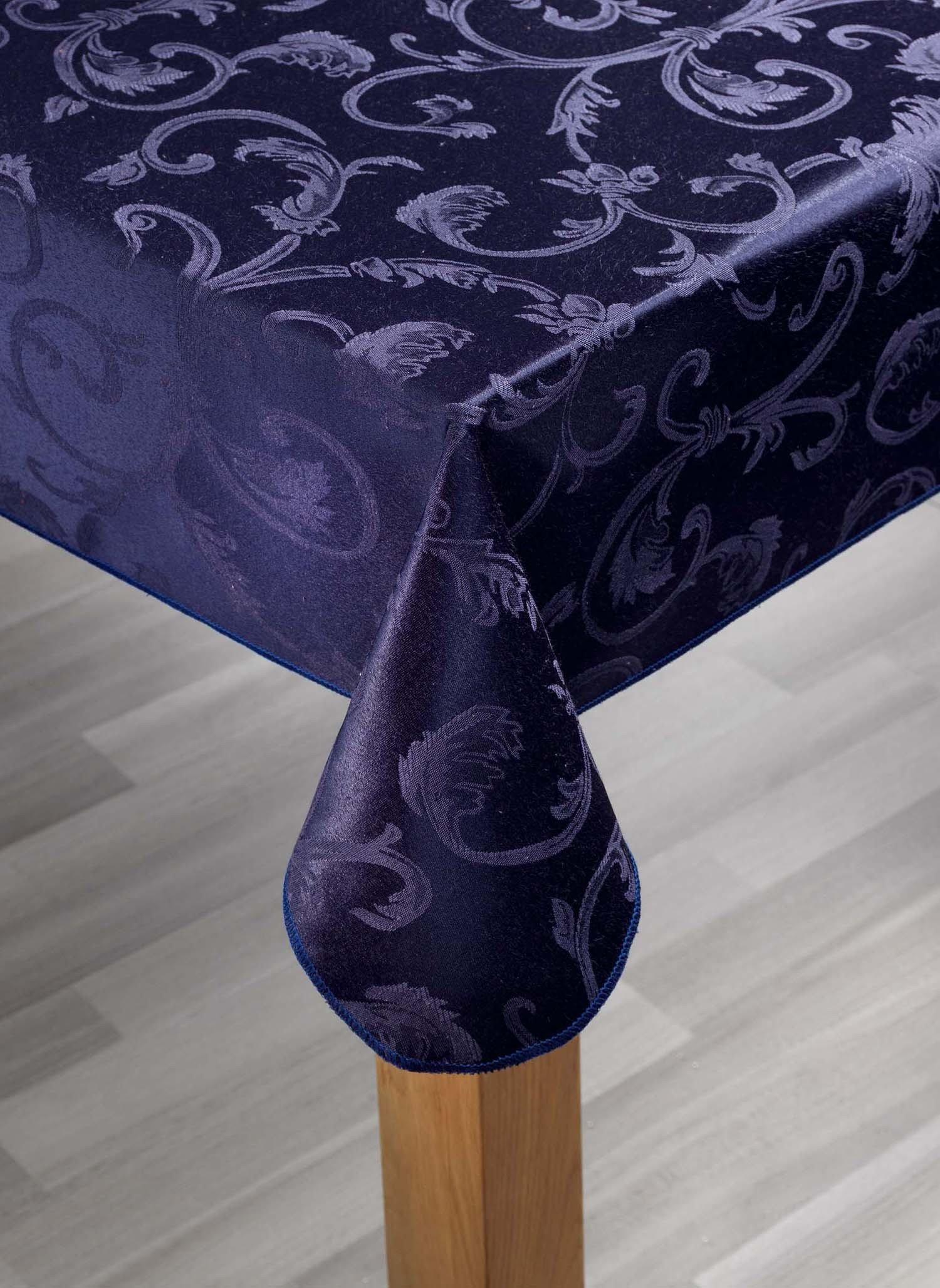 S-Tischd.Floral blau 140x180cm - 2 - Ronja.ch