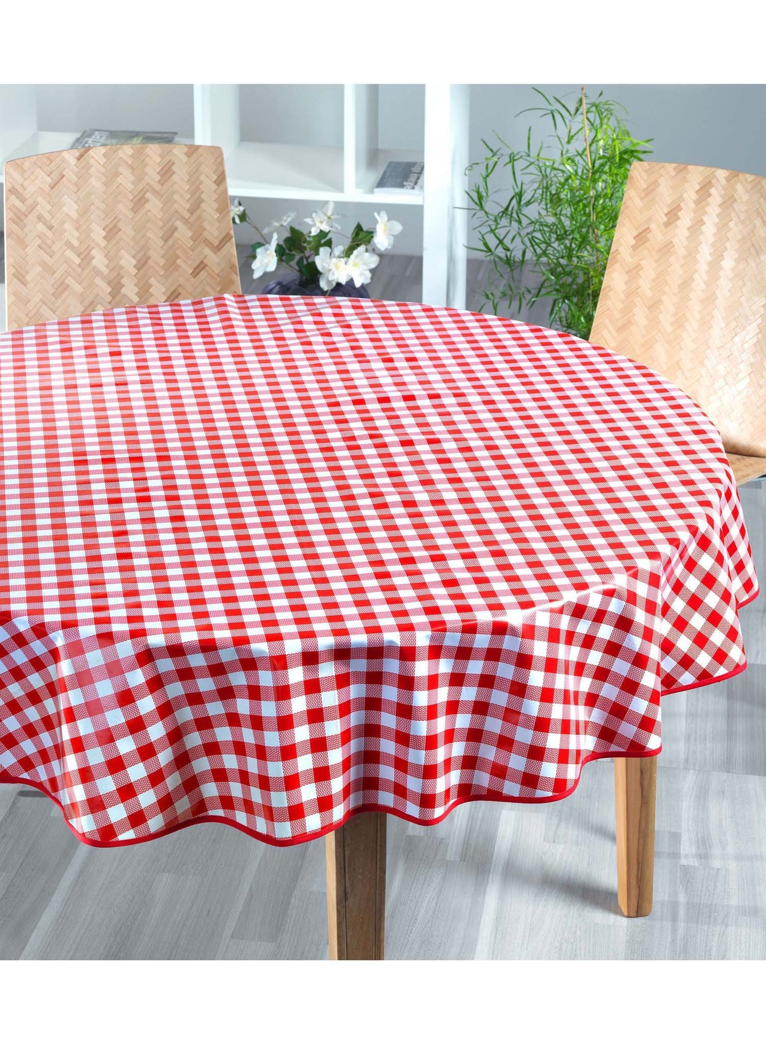 Tischdecke,Kölsch rot 160cm - 2 - Ronja.ch