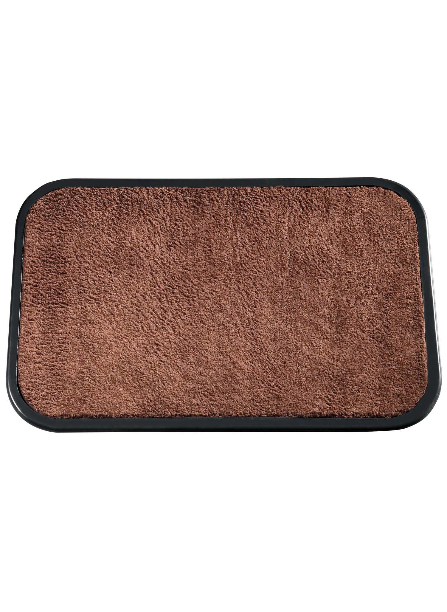 Waschbare Teppichvorl.braun
