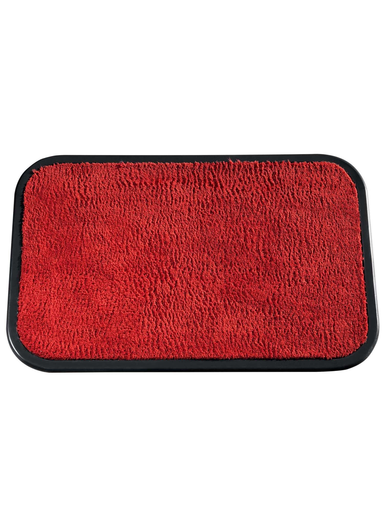 Waschbare Teppichvorlage rot - 1 - Ronja.ch