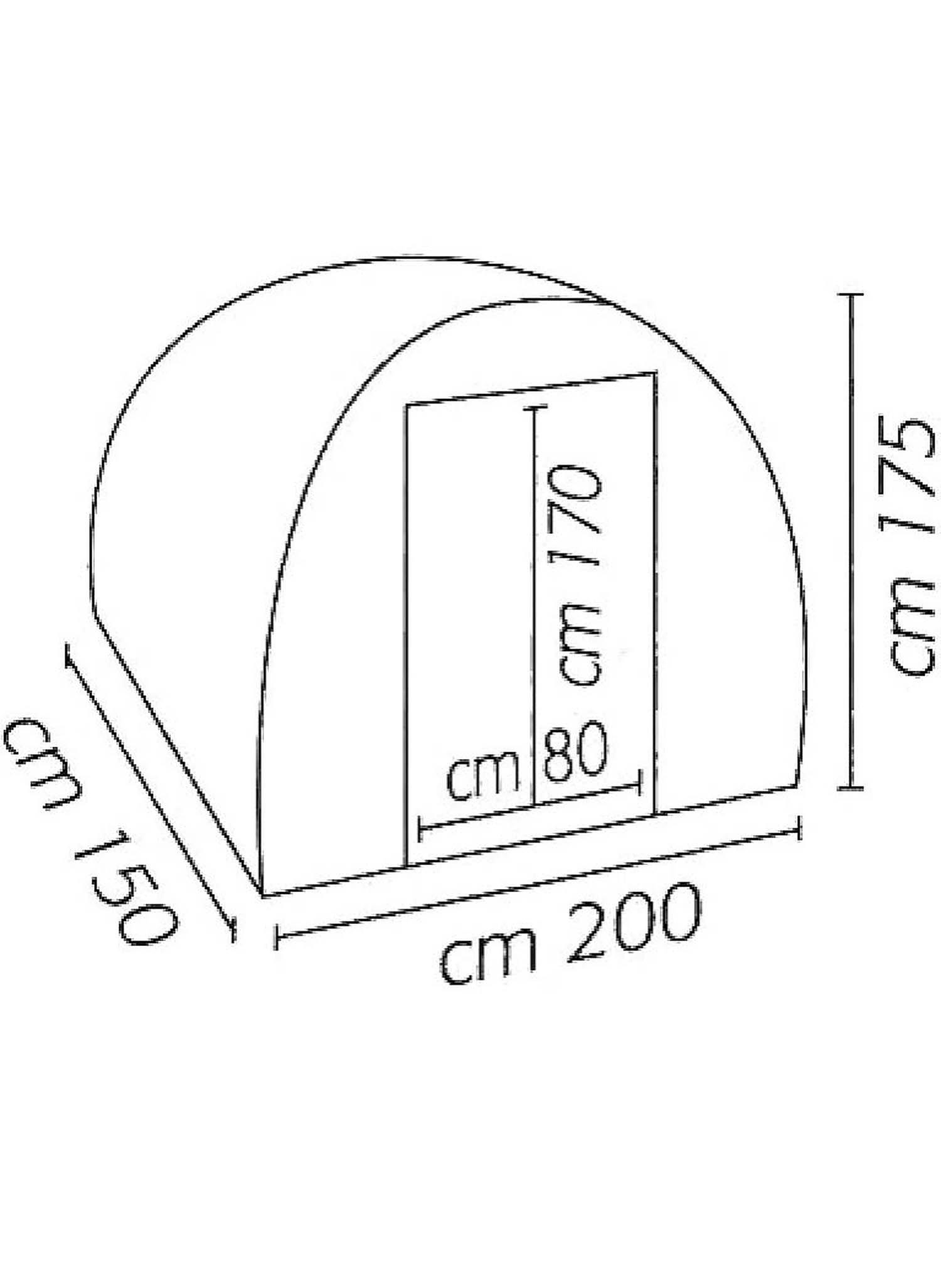 Gewächshaus Modell A