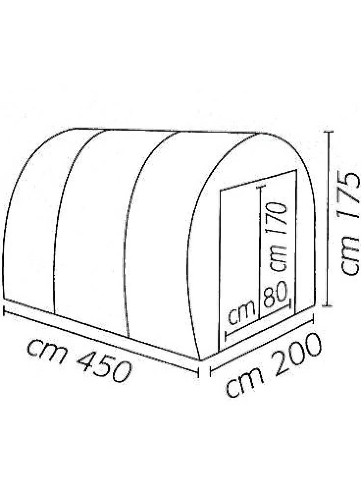 Gewächshaus Modell C