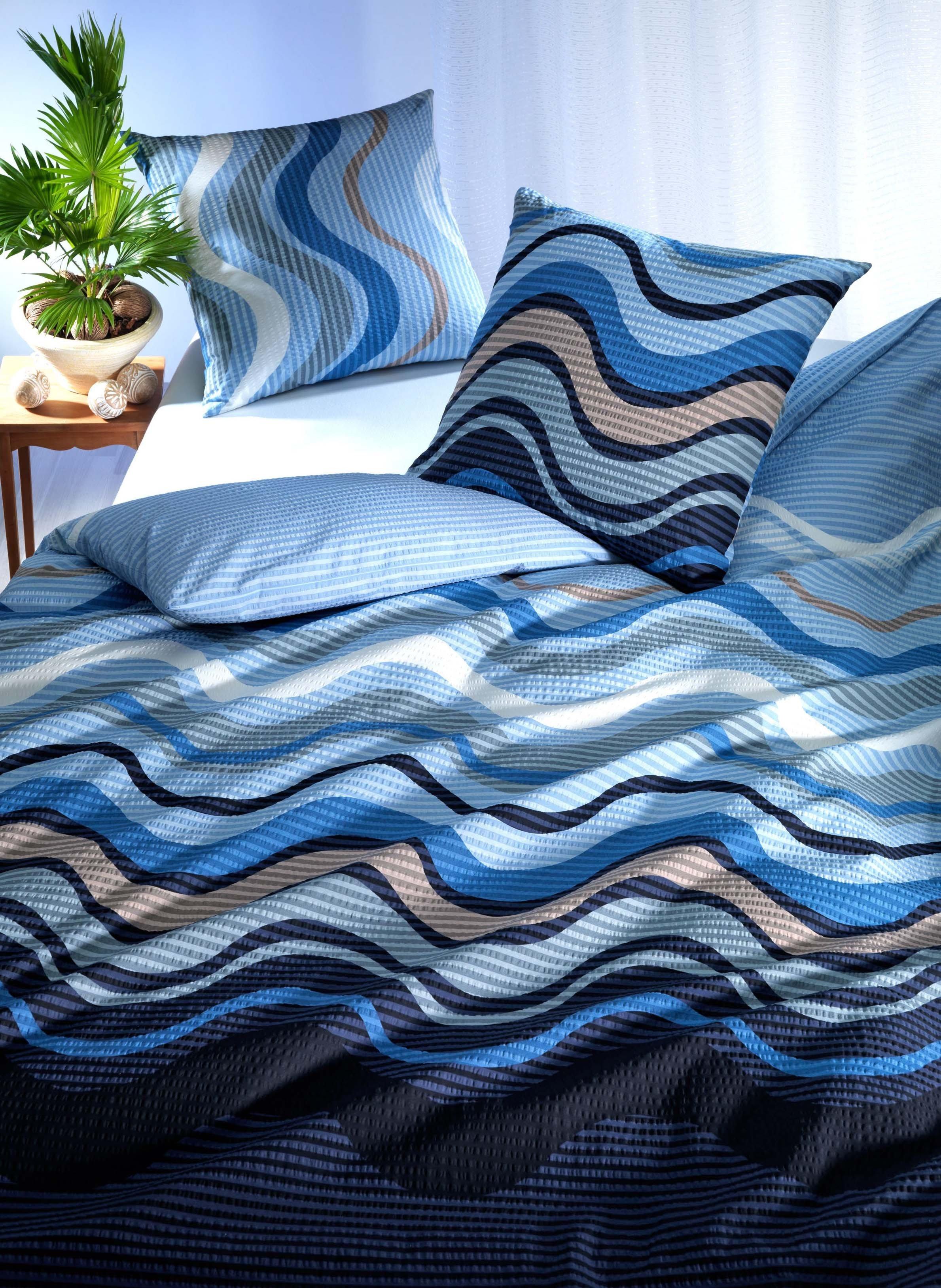 "SES-Duvet""SURF""135x170cm blau"