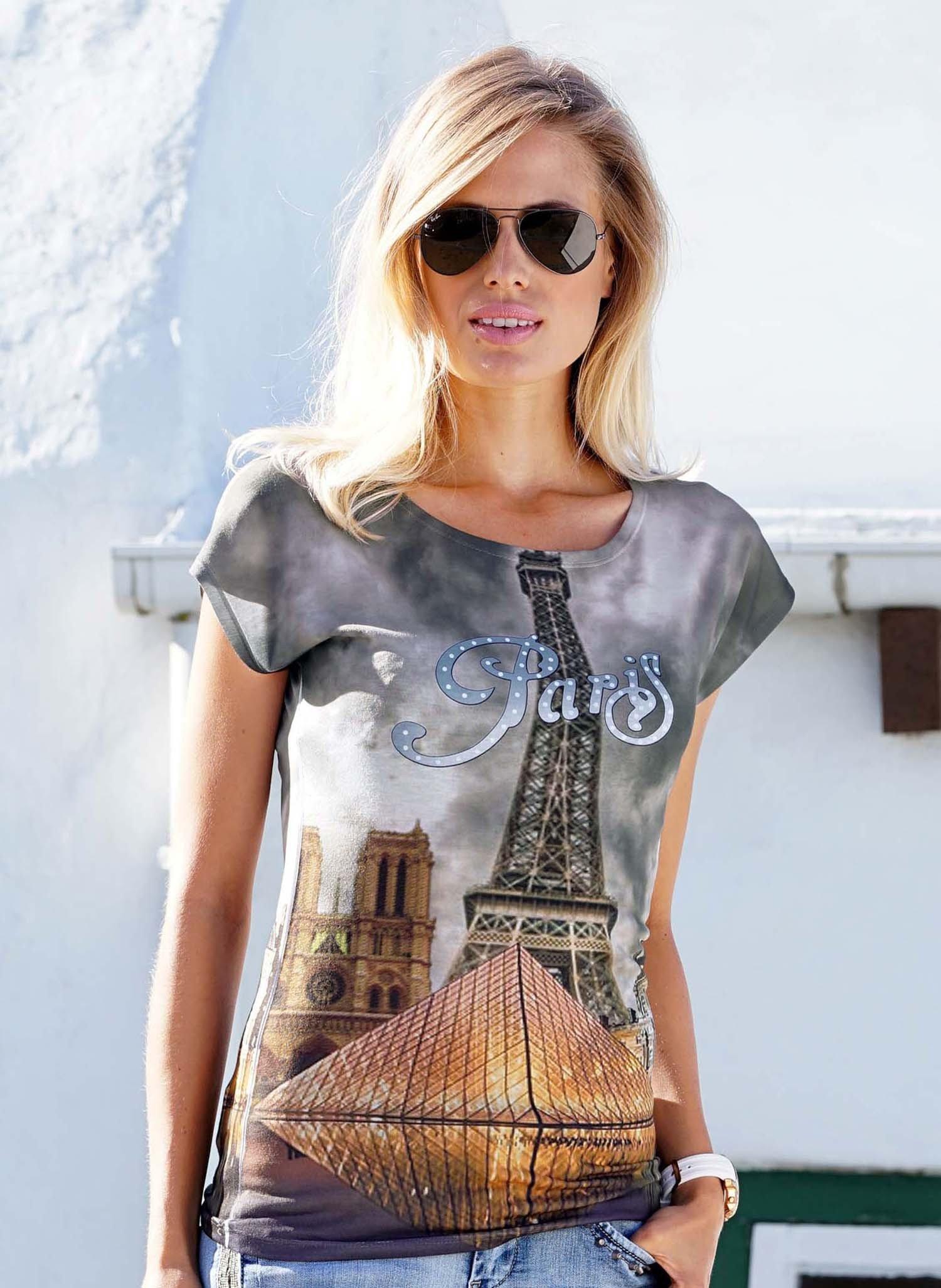 """D-KA-Shirt,""""PARIS"""" L 058 - 1 - Ronja.ch"""