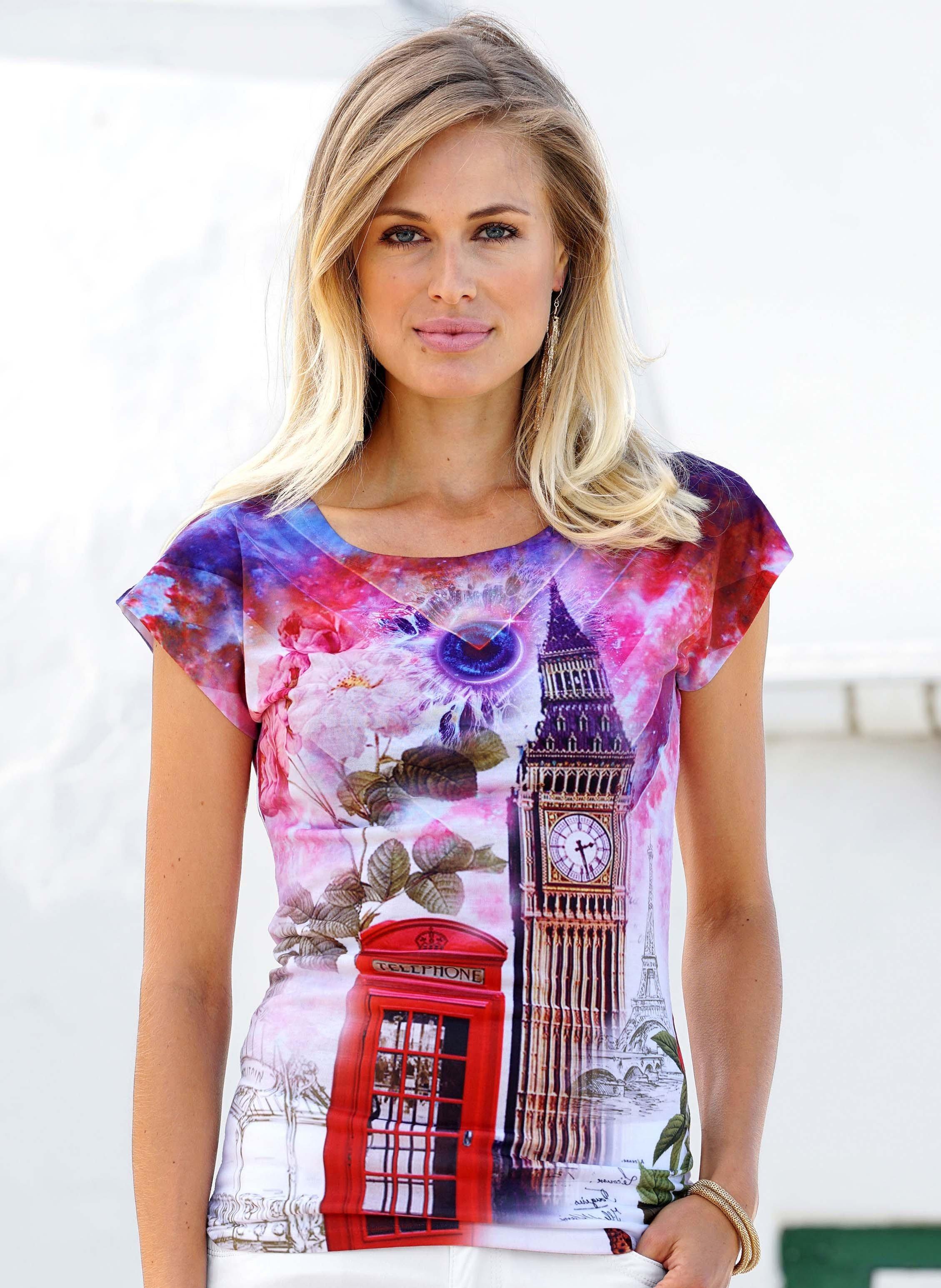 "Kurzarm-Shirt""LONDON"""