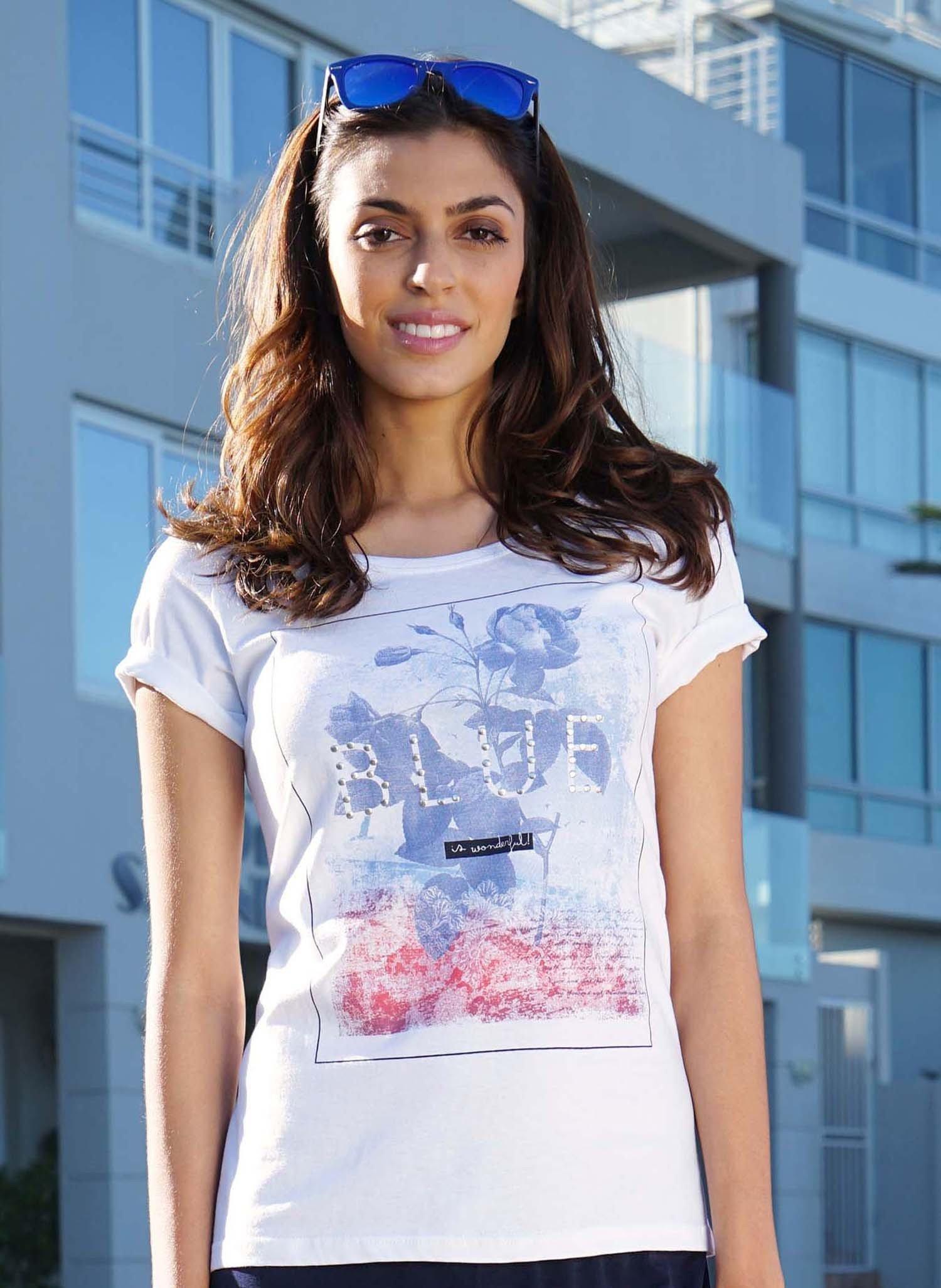 """D-KA-Shirt,""""BLUE""""weiss 38 001 - 1 - Ronja.ch"""
