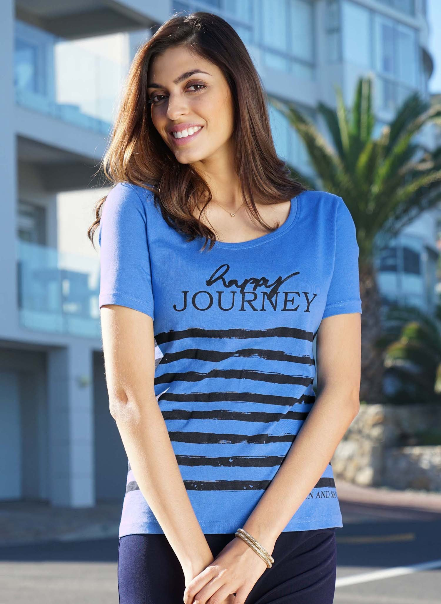 "D-KA-Shirt,""JOURNEY""blau 38 047 - 1 - Ronja.ch"