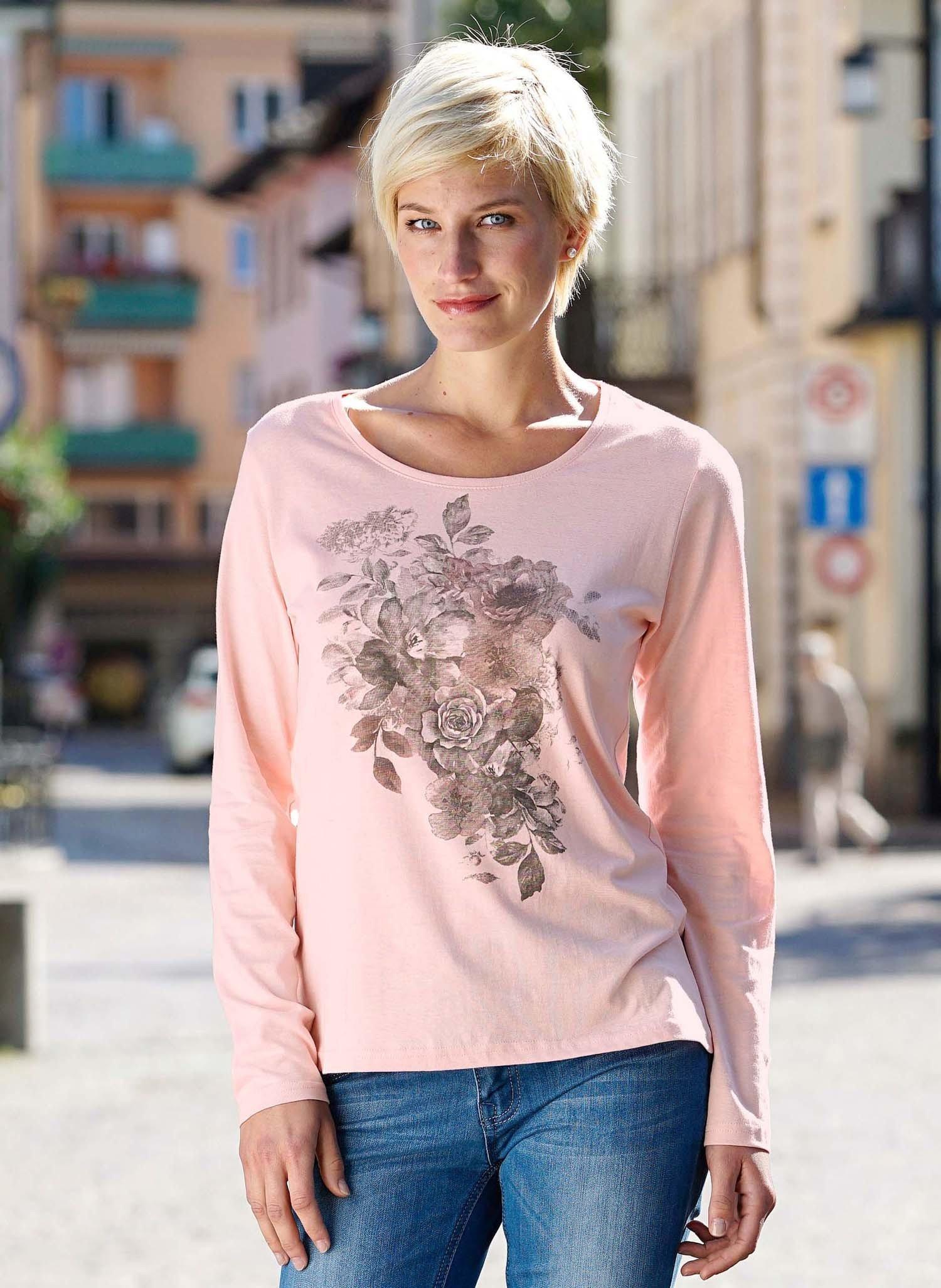 D-LA-Shirt,Floral rosa 38 020 - 1 - Ronja.ch