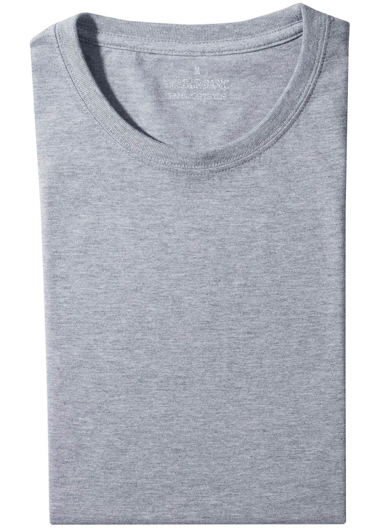 U-Duo-Pack-Shirt grau mel. XXXL 004 - 1 - Ronja.ch