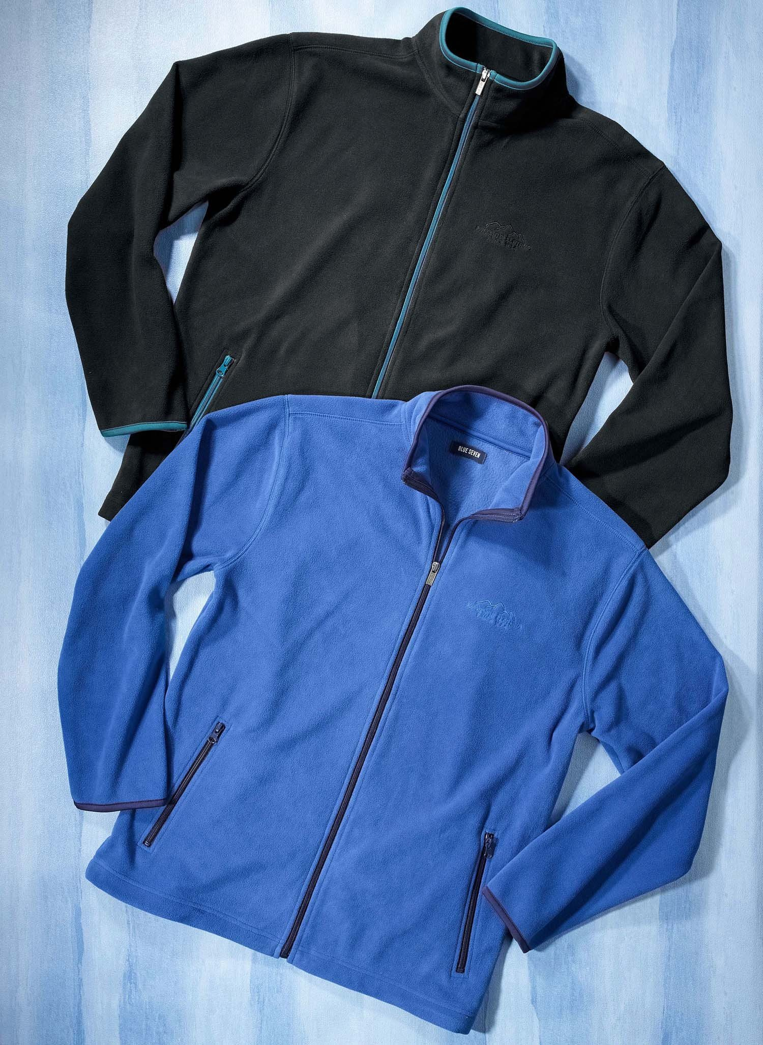 H-Fleece-Jacke schwarz L 010 - 2 - Ronja.ch